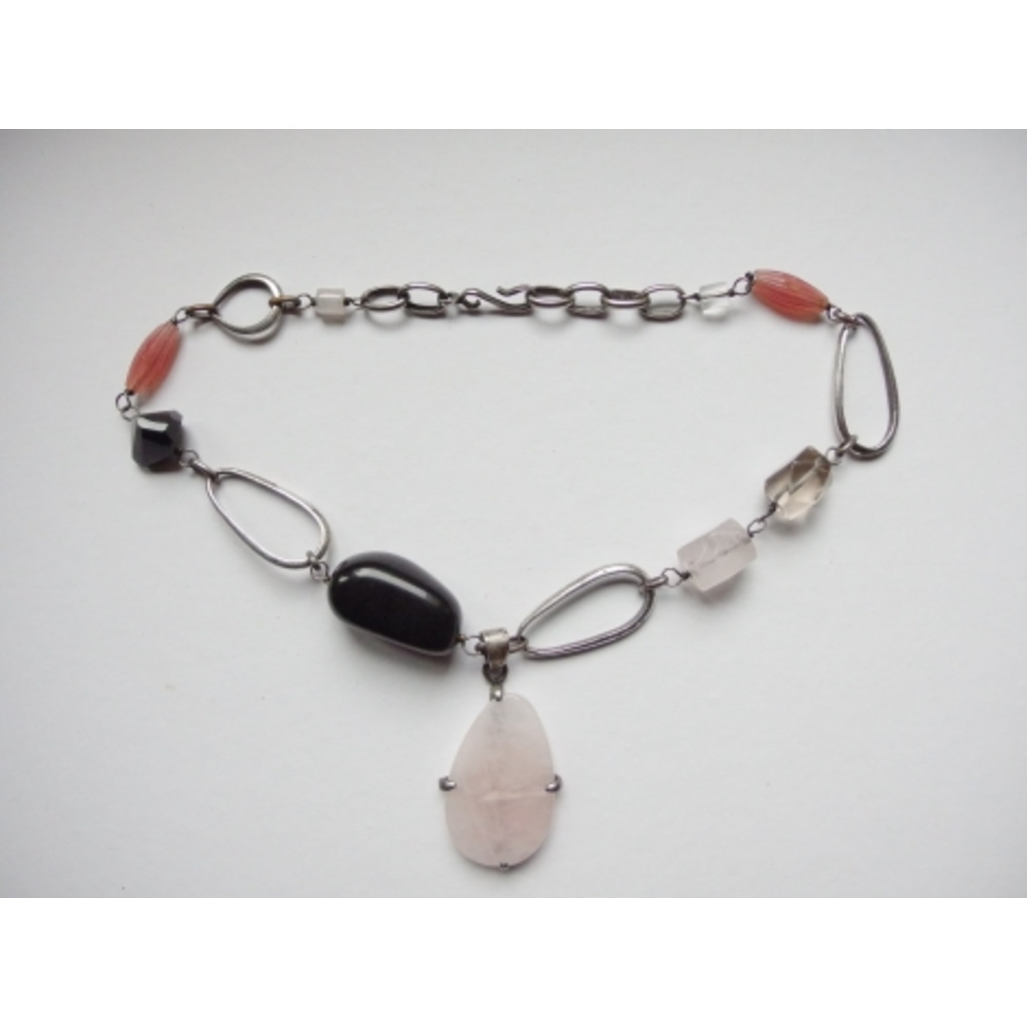 Collier DELPHINE NARDIN  pierres multicolore