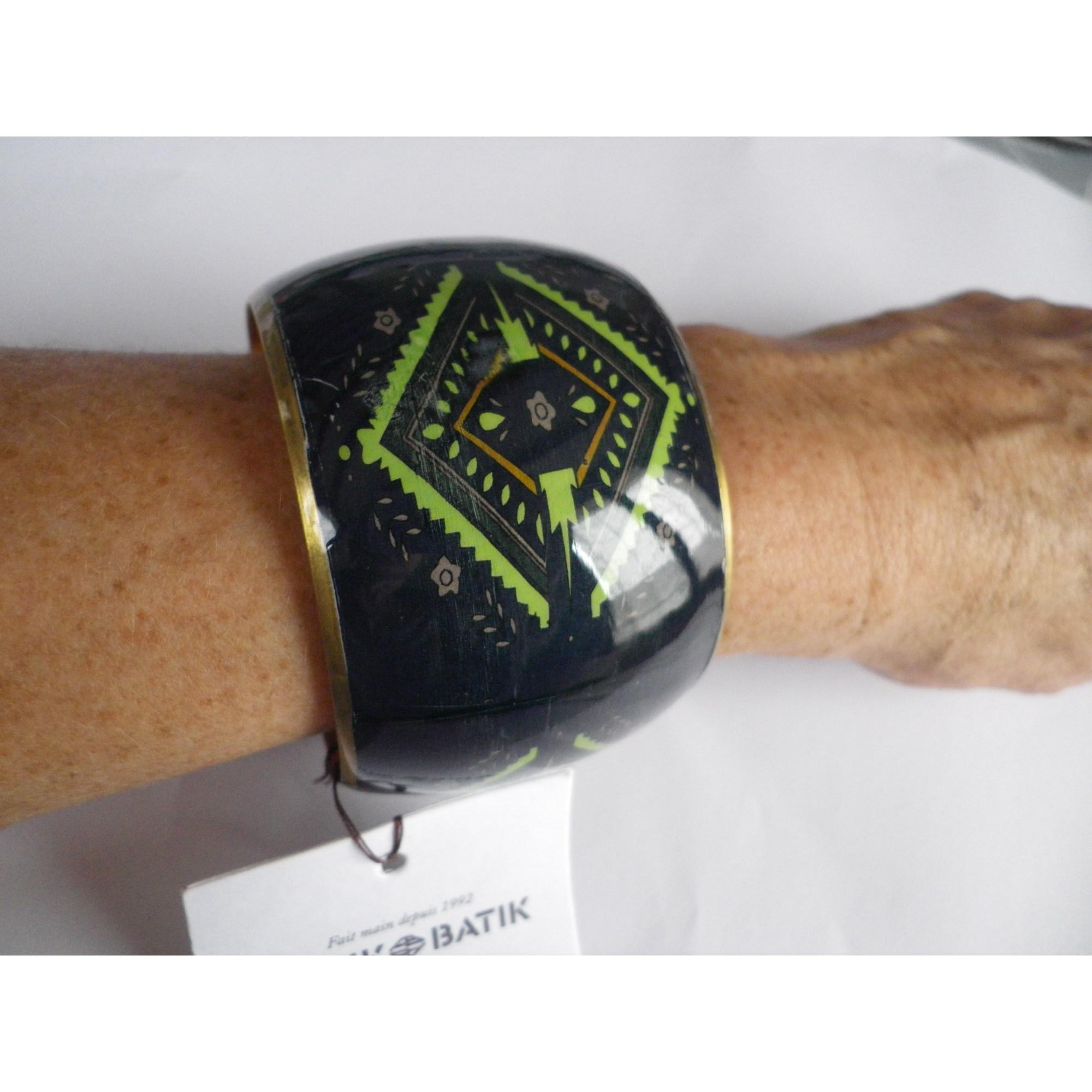 Bracelet ANTIK BATIK métal vert