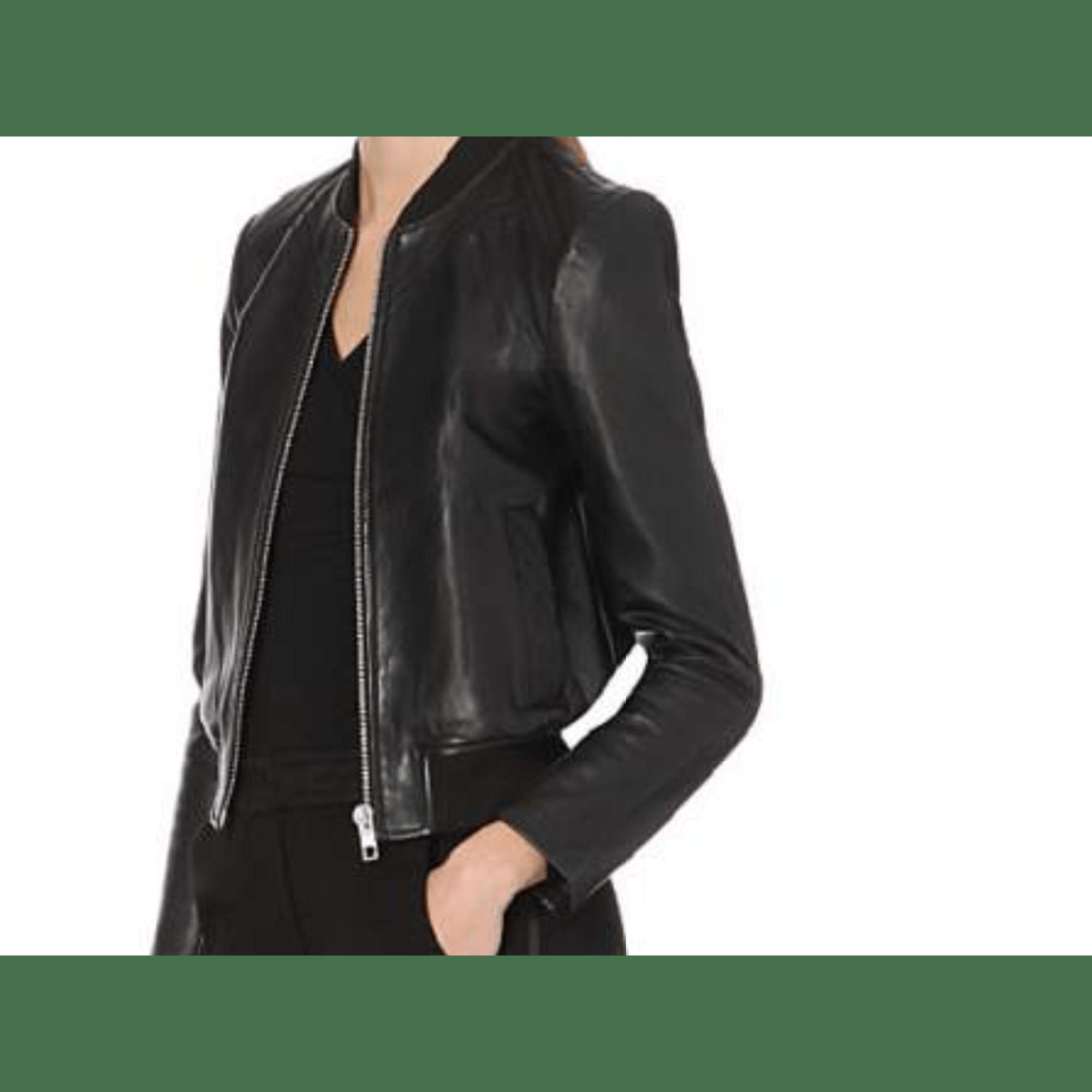 Blousons Maje Les It vestes en cuir Galeries Lafayette