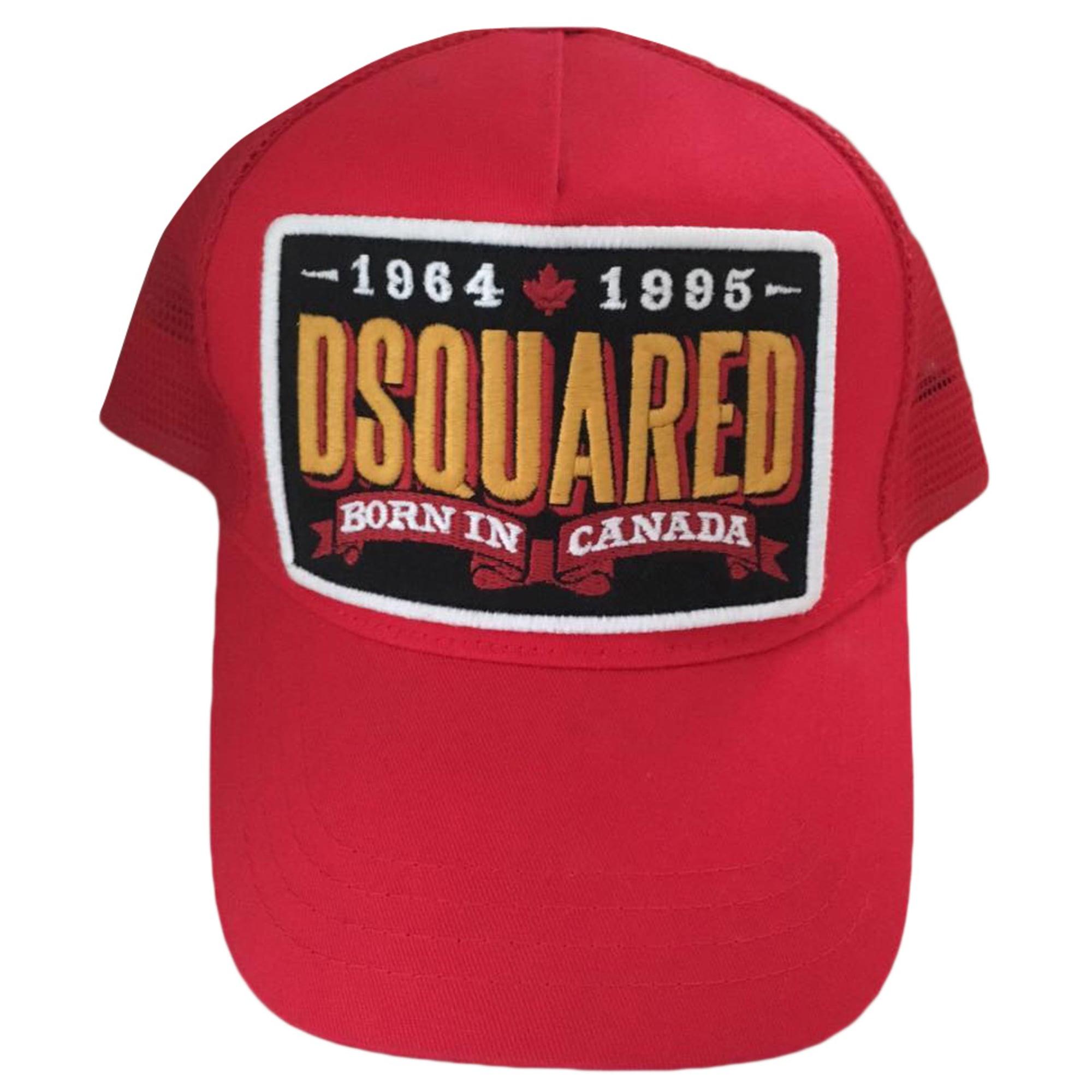 6e2f9d76b7c1 Casquette DSQUARED2 Taille unique rouge vendu par D ornella ll ...