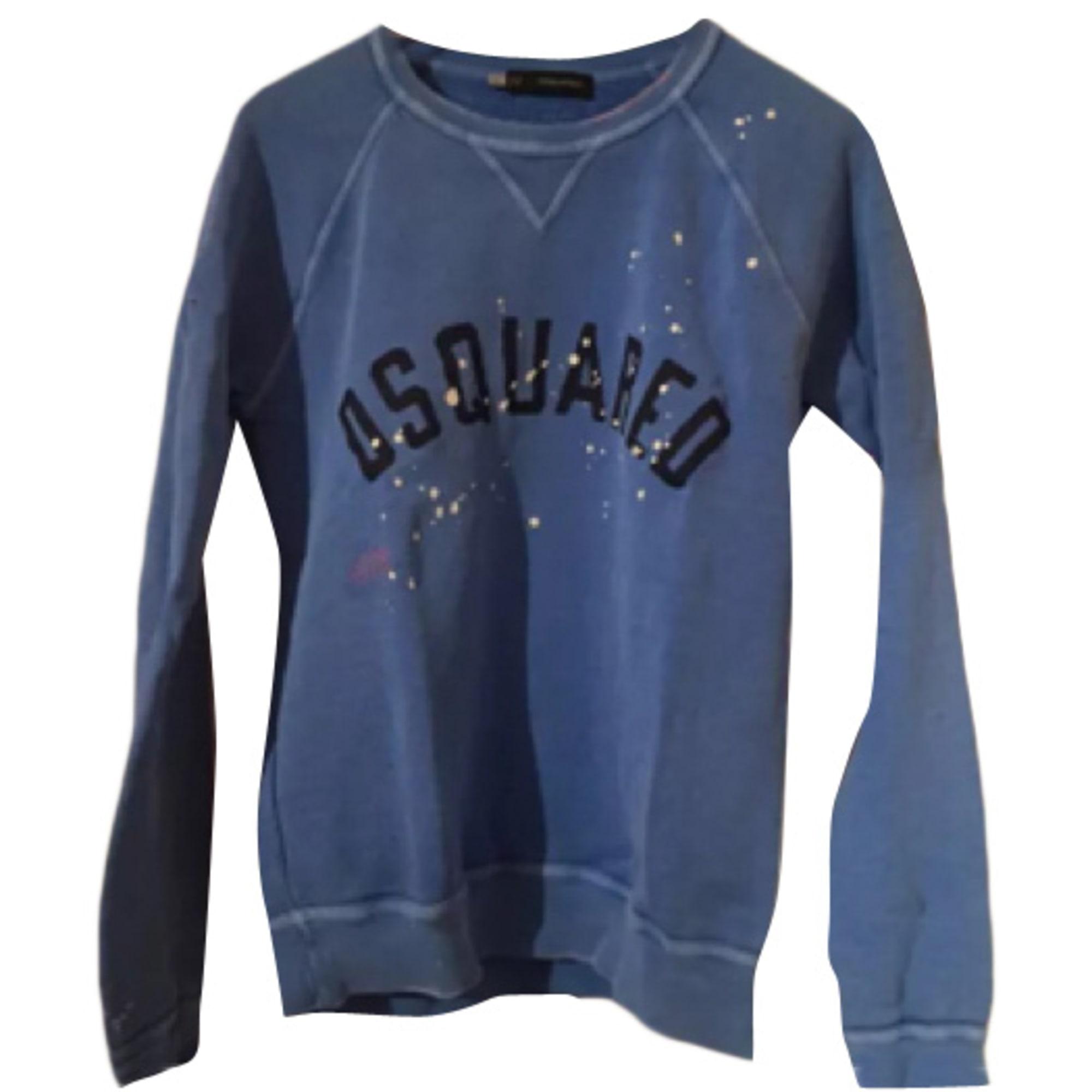 ab2bbf1a76fffd Sweat DSQUARED2 2 (M) bleu vendu par Tom 289 - 4554095