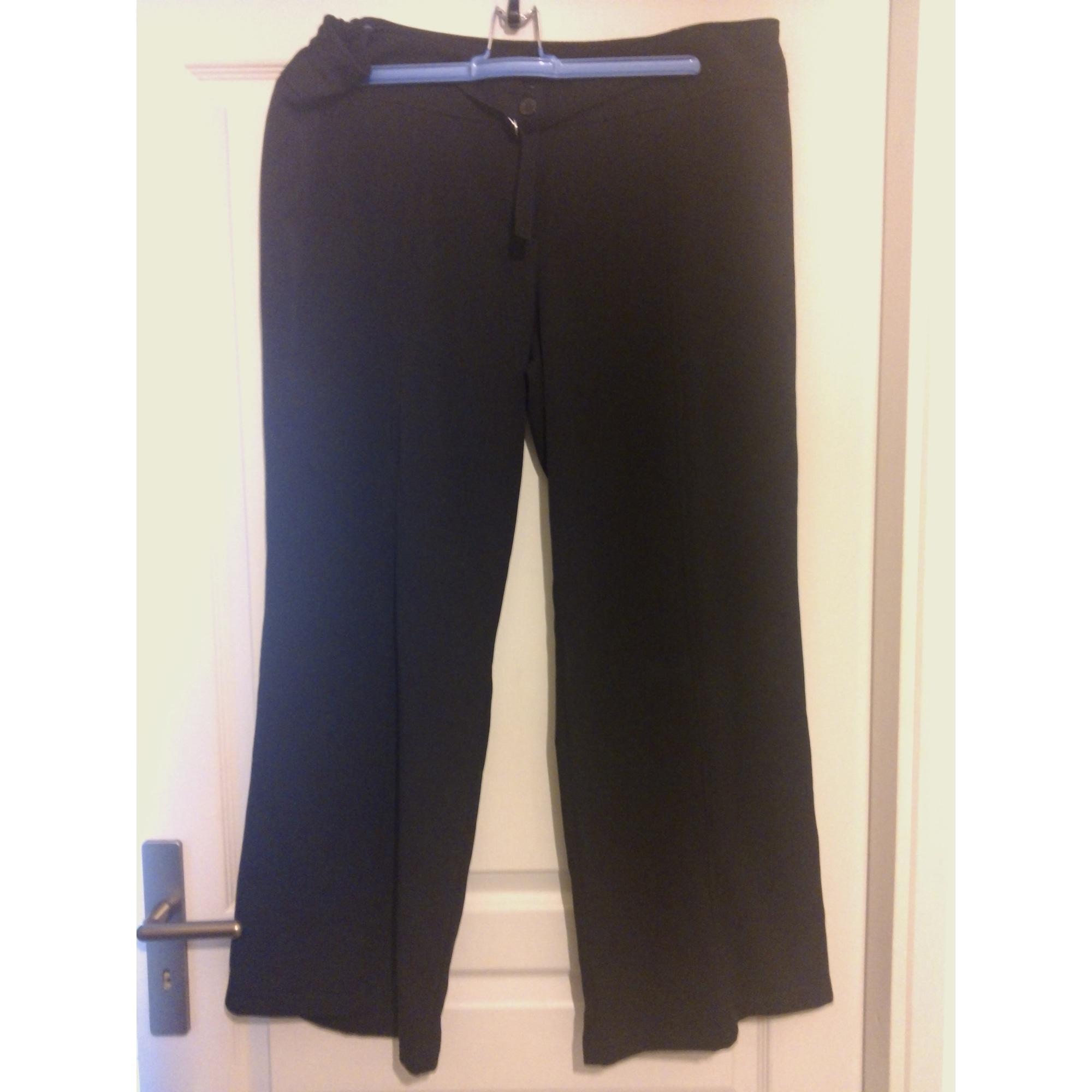 48a576731a8 Pantalon large MS MODE 48 (XXXL) noir vendu par Big is beautiful ...