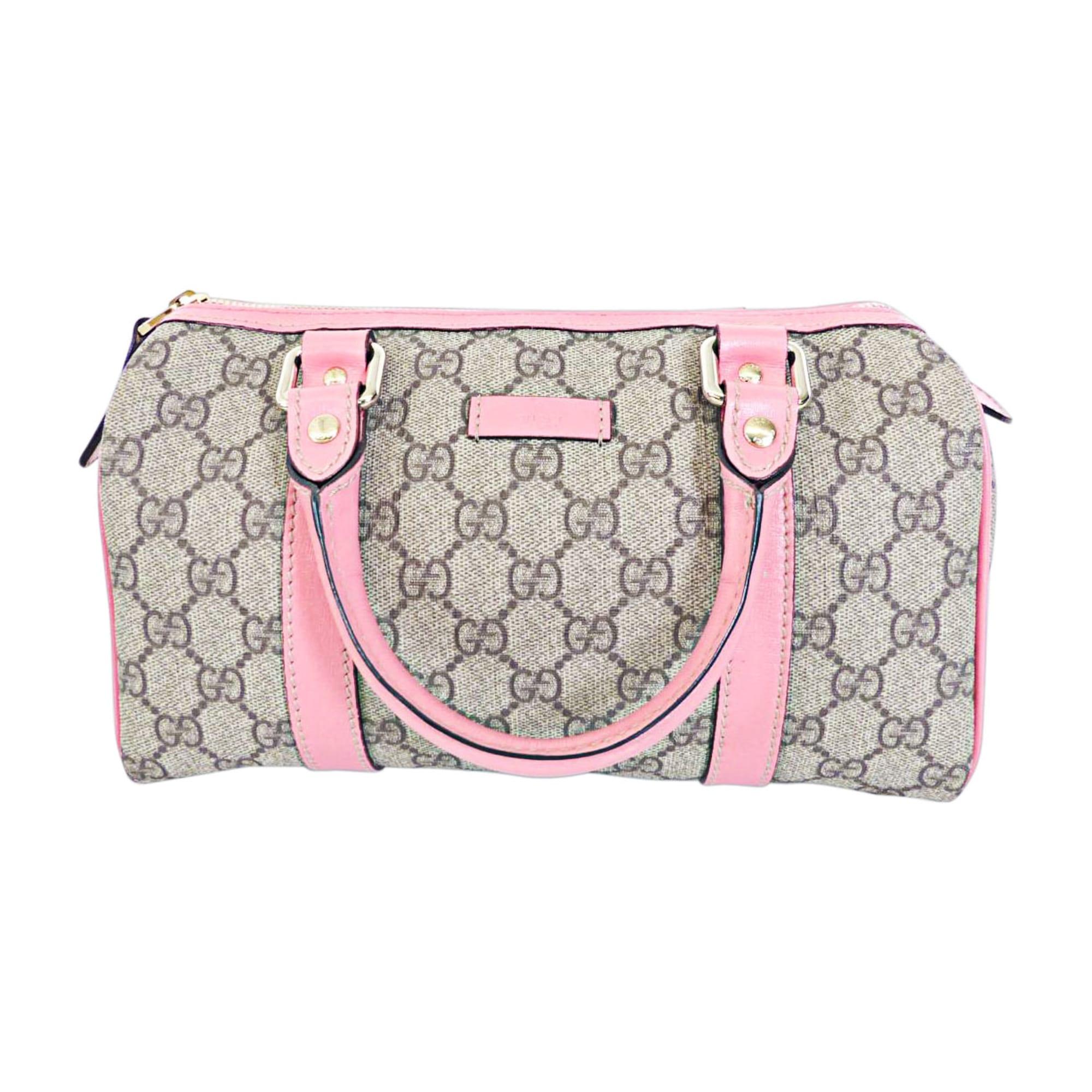 2beb98311b88 Sac à main en tissu GUCCI boston rose vendu par Lux-a-porter - 4558826