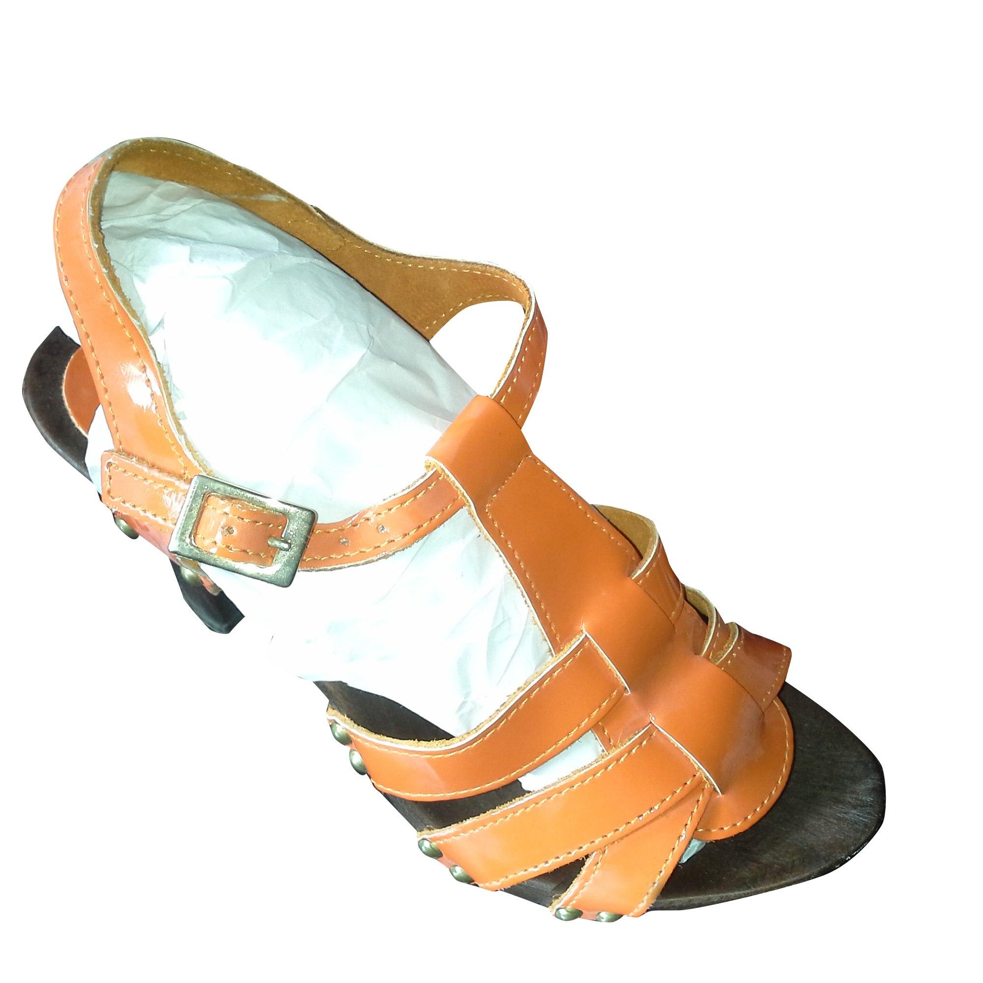 Sandales à talons MORGAN Orange