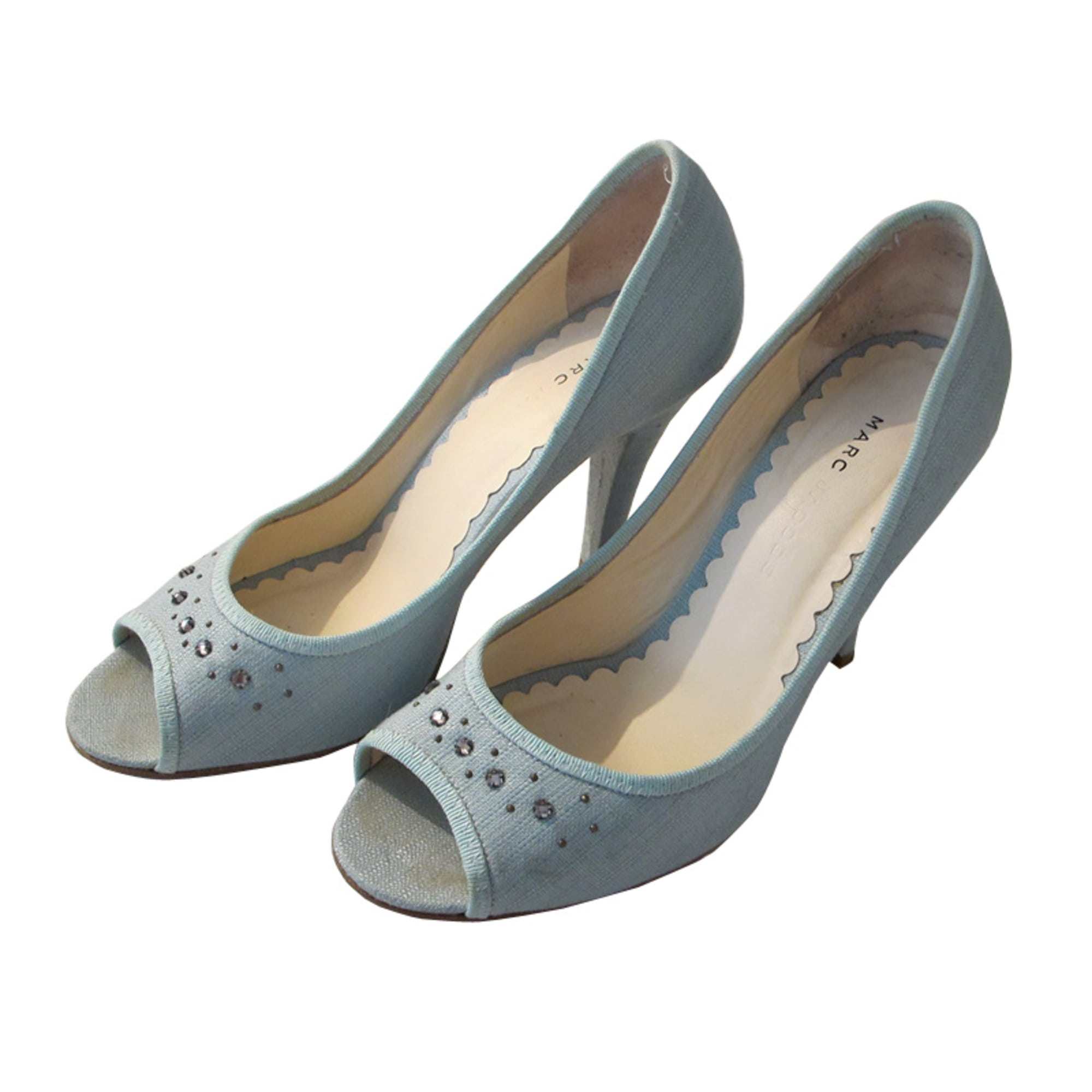 Peep-Toe Pumps MARC JACOBS Blue, navy, turquoise