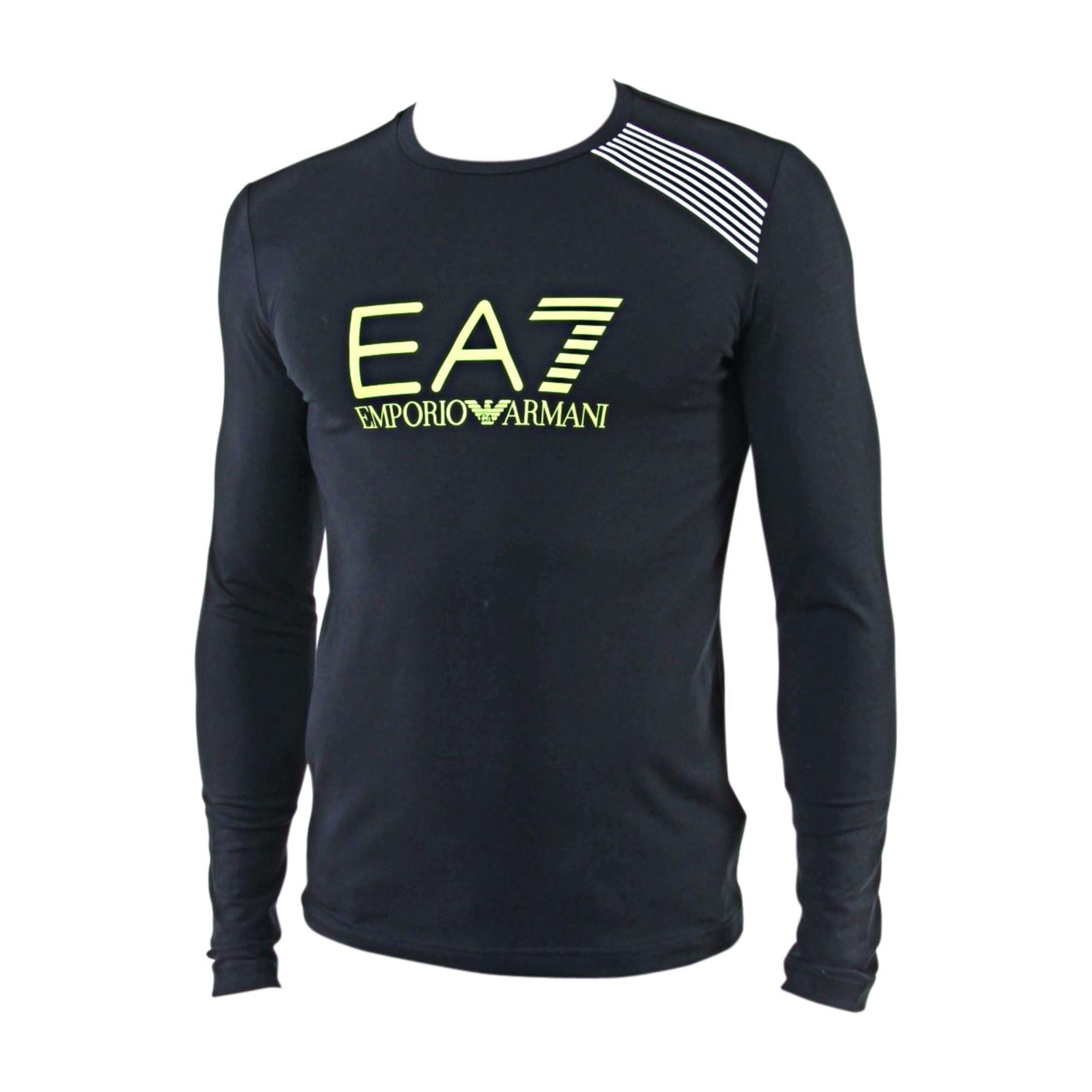 Tee-shirt ARMANI EA7 0 (XS) noir vendu par La boutique de ... 79d4e66a009