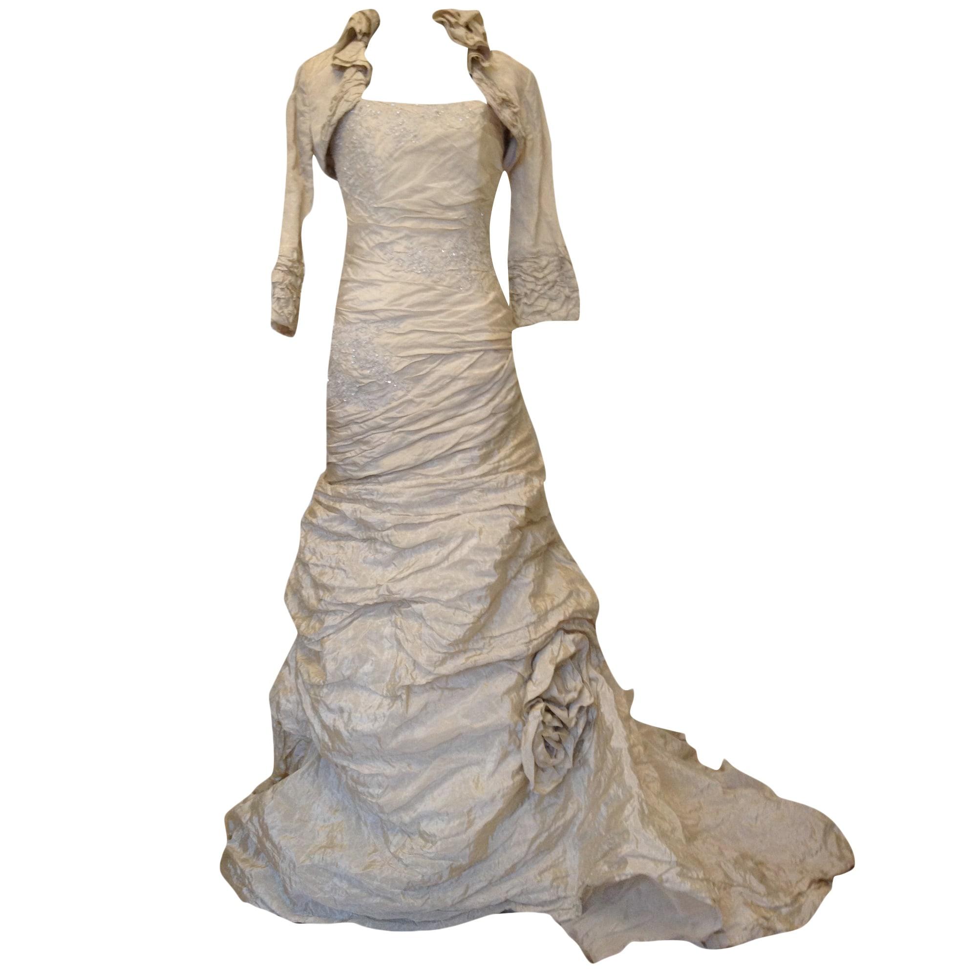 Brautkleid LES MARIÉES D\'ELODIE 40 (L, T3) gold - 4575398