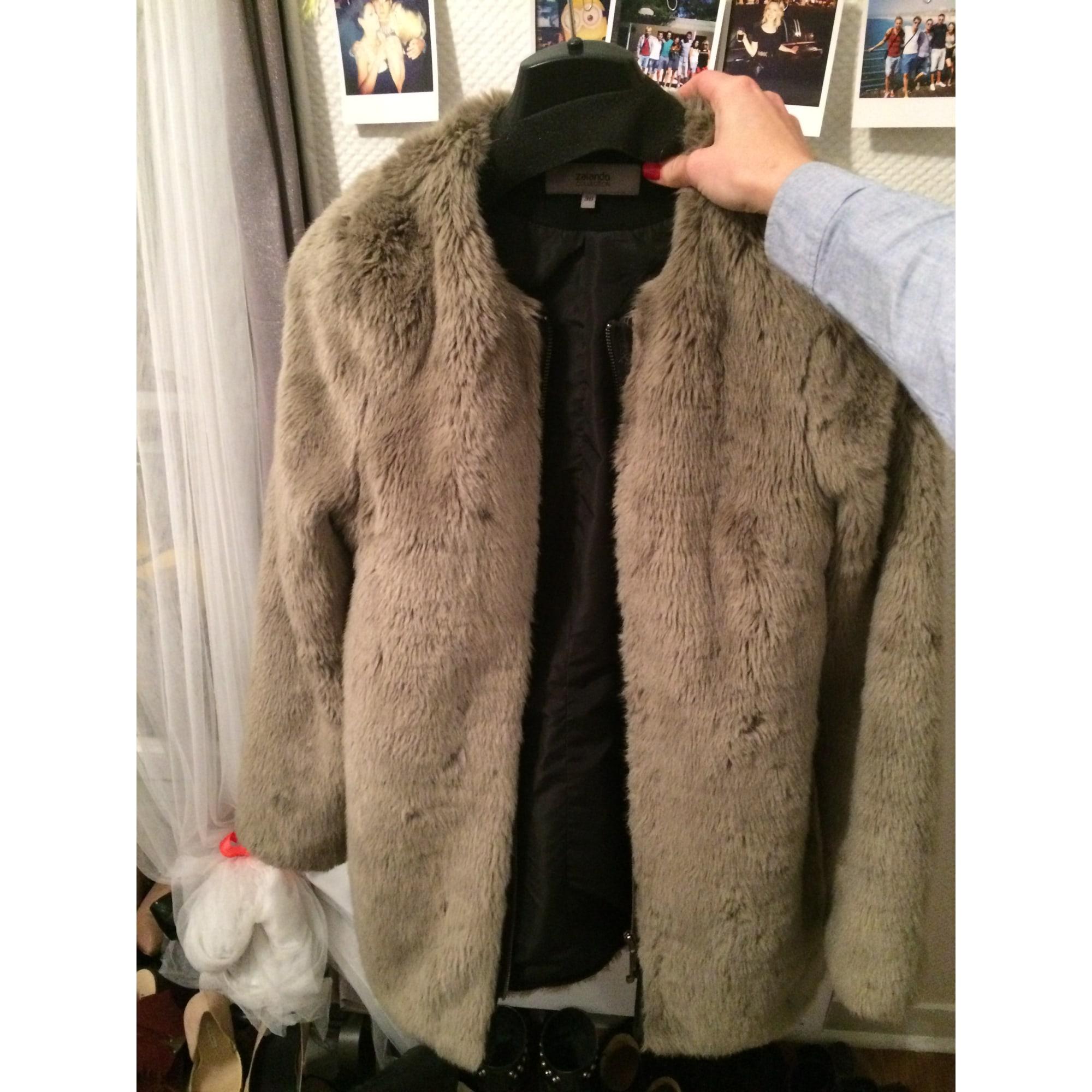 Manteau fourrure femme zalando