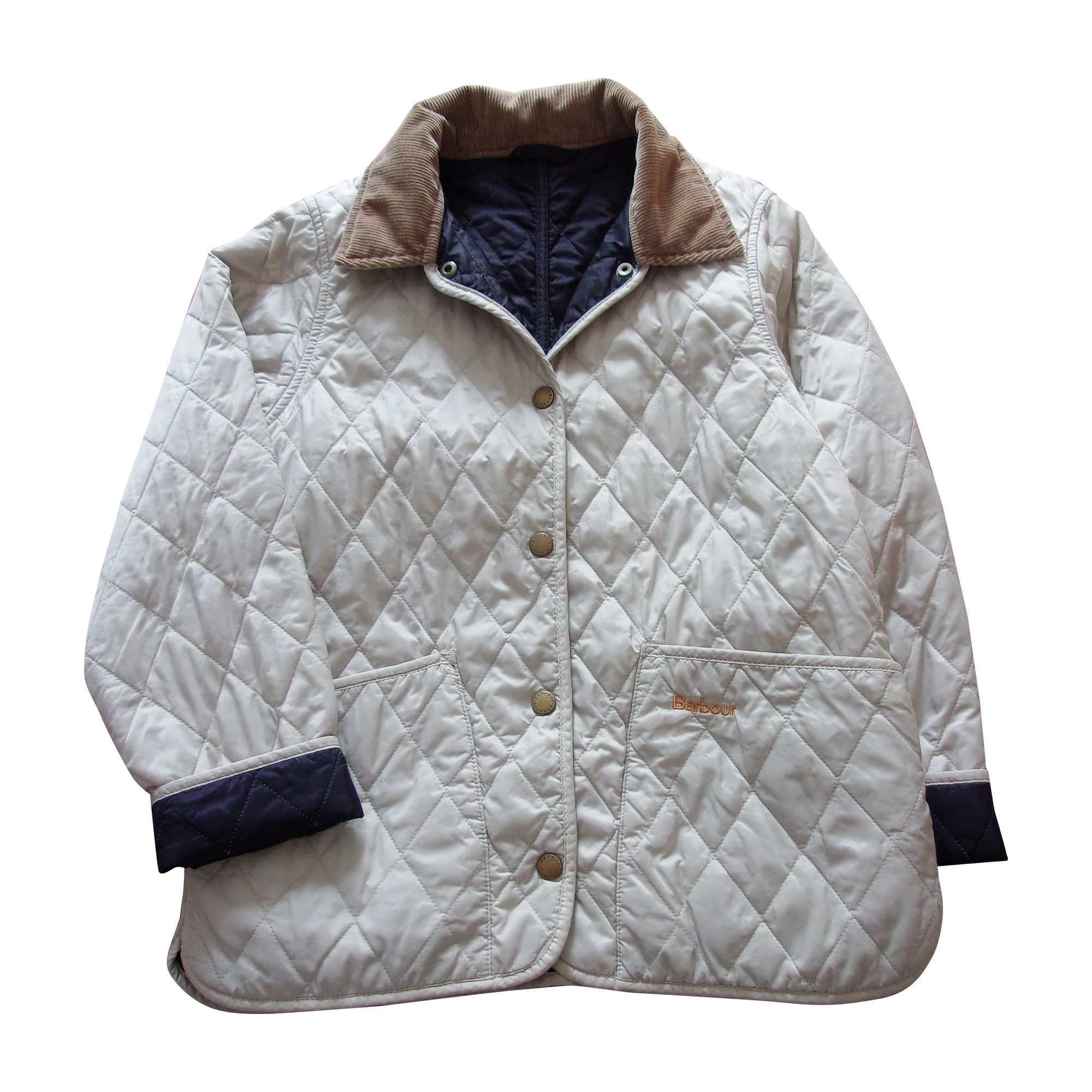 Parka BARBOUR White, off-white, ecru