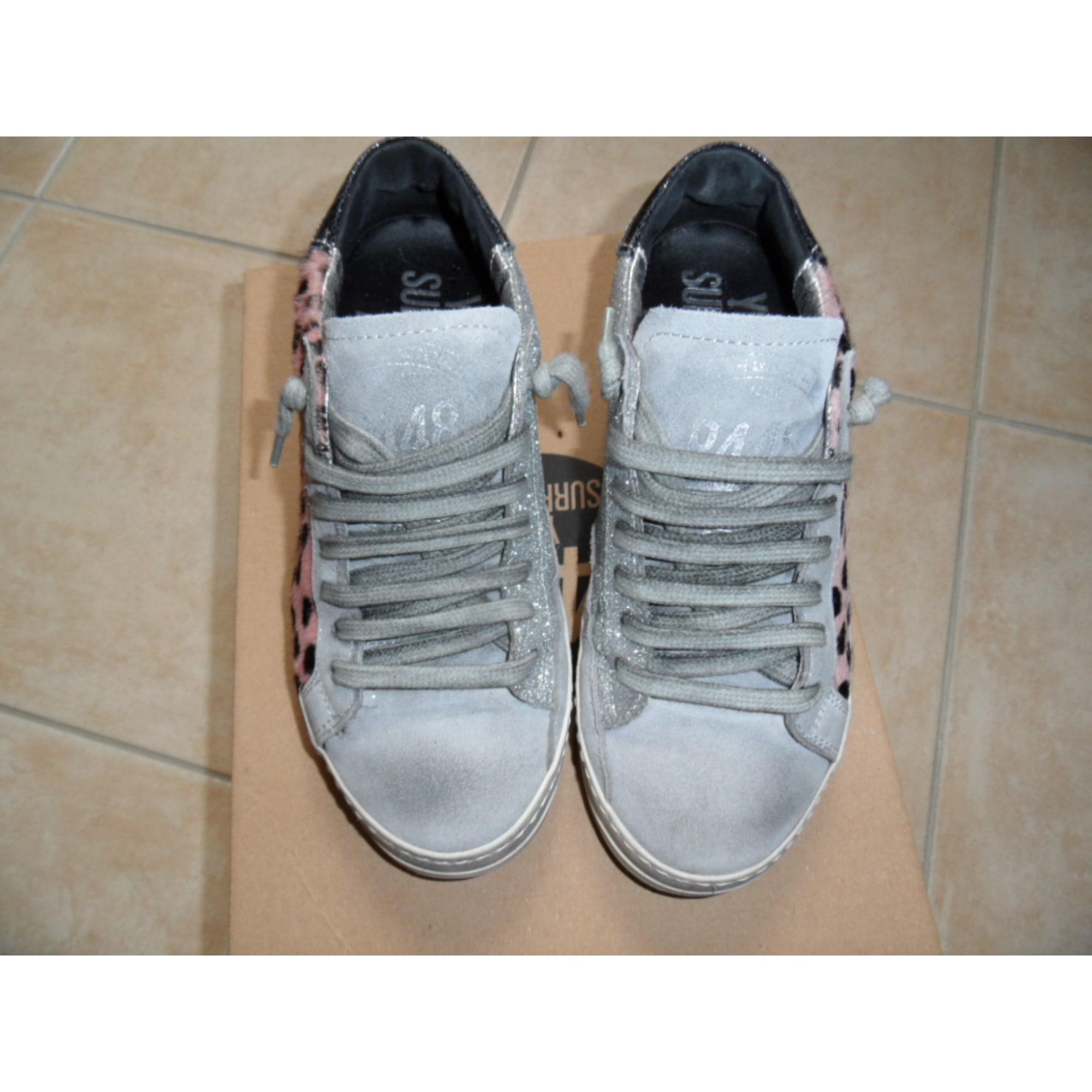 8779540d35 Baskets P448 36 gris vendu par Cerniac - 4598173