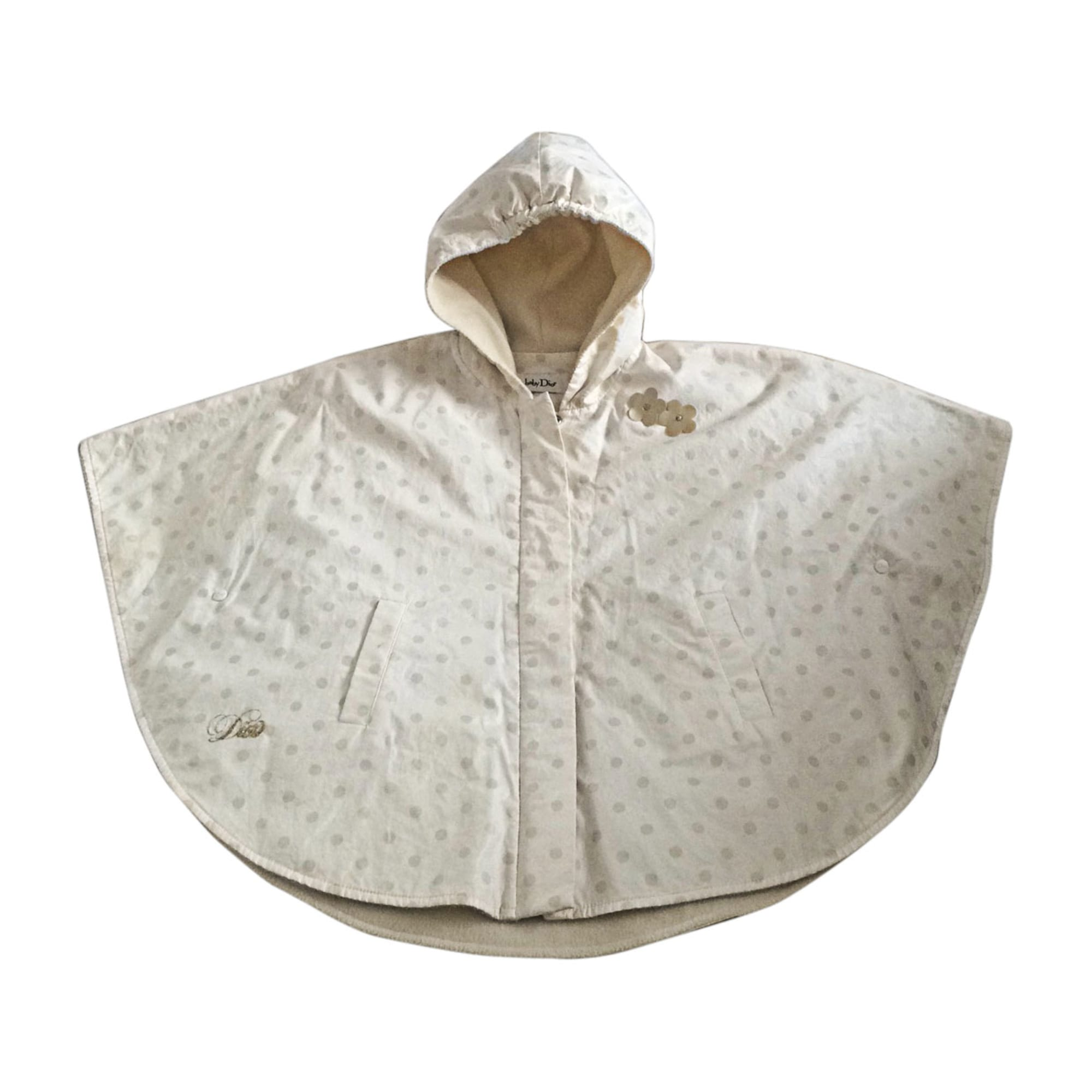 Jacket BABY DIOR White, off-white, ecru