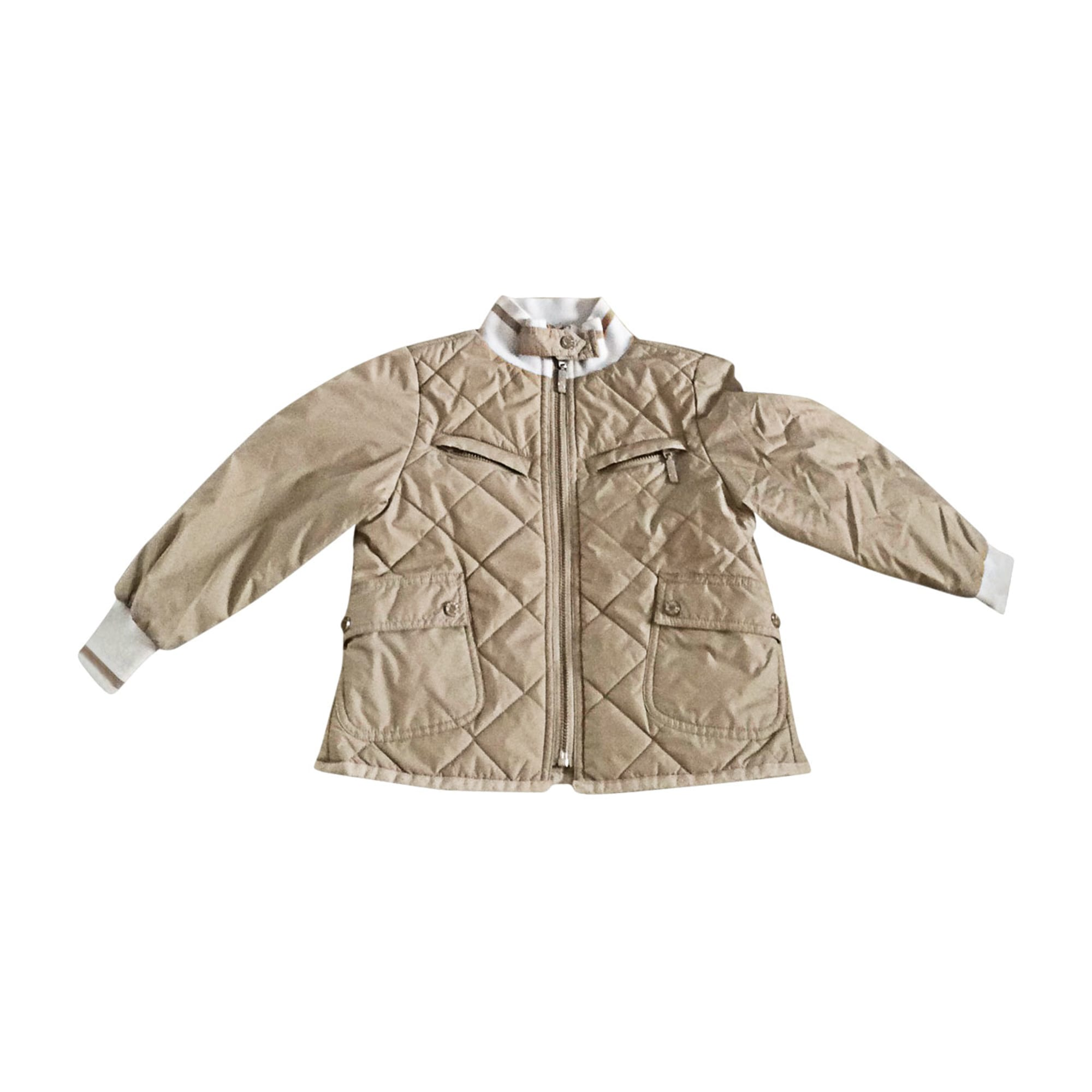 Down Jacket MONCLER Beige, camel