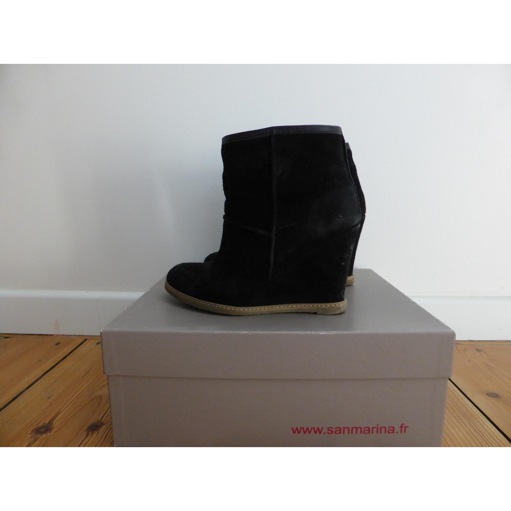 Bottinesamp; Compensés Boots Bottinesamp; À Low KclFT1J