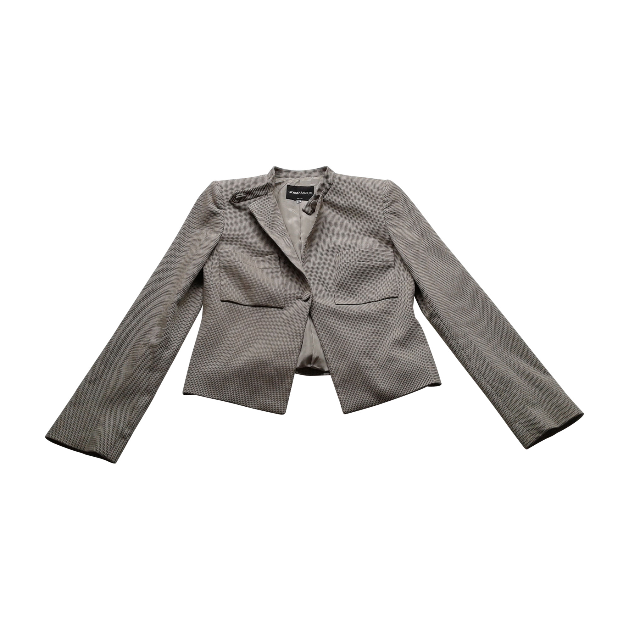 6efc70cf331e Blazer, veste tailleur GIORGIO ARMANI 38 (M, T2) chocolate brown and ...