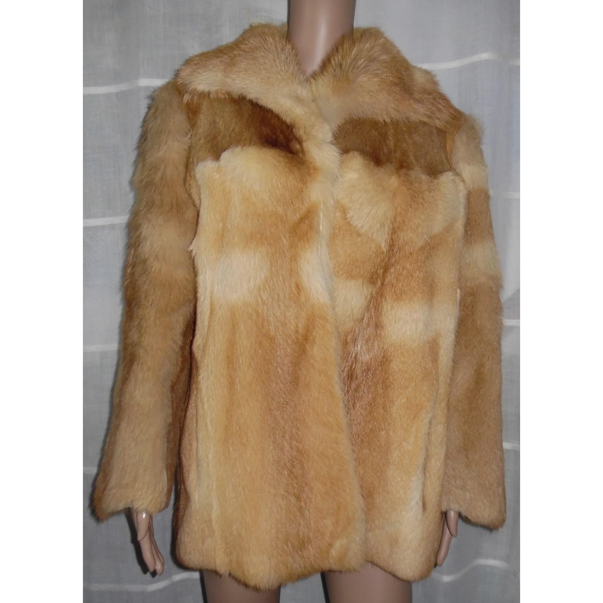 Blouson, veste en fourrure DASCO 38 (M, T2) marron vendu par Cathy ... 65620686eb2