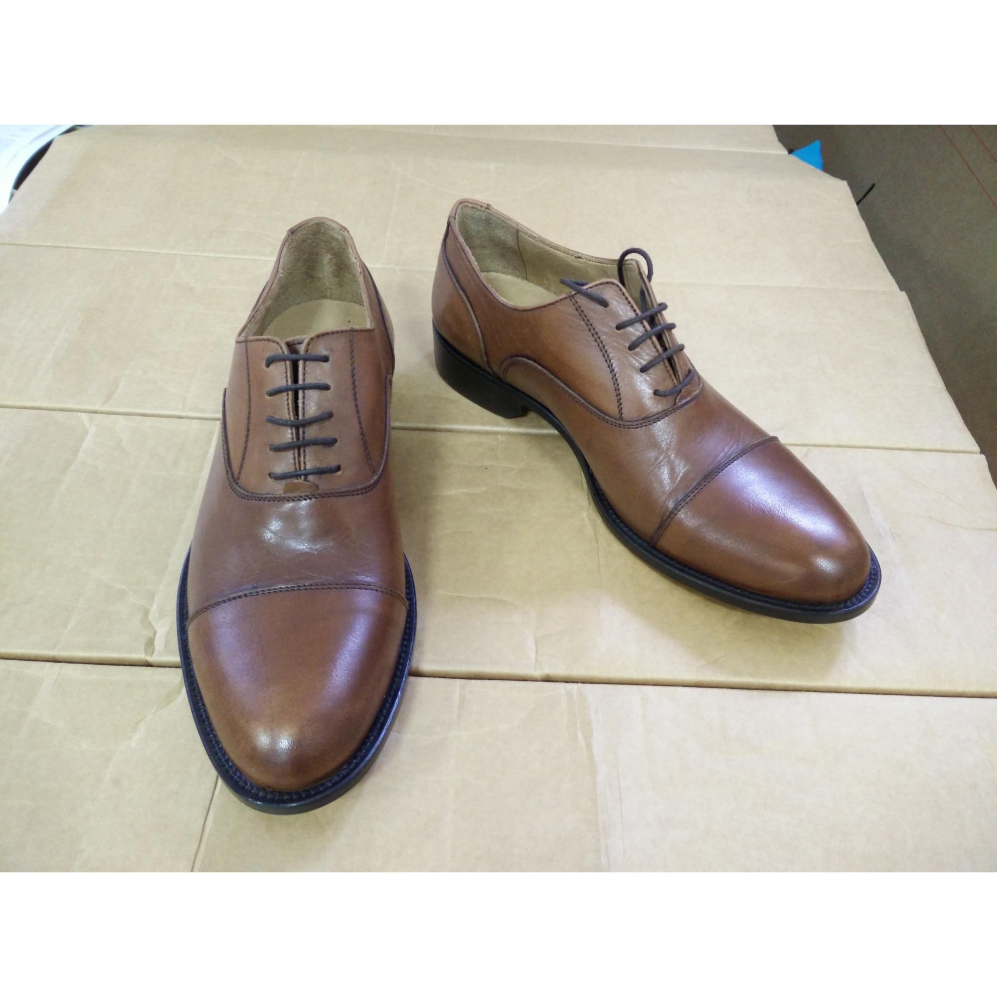 Marron Lacets À 40 Vendu Par British Chaussures Passport I2d9eh Ygyvbf67