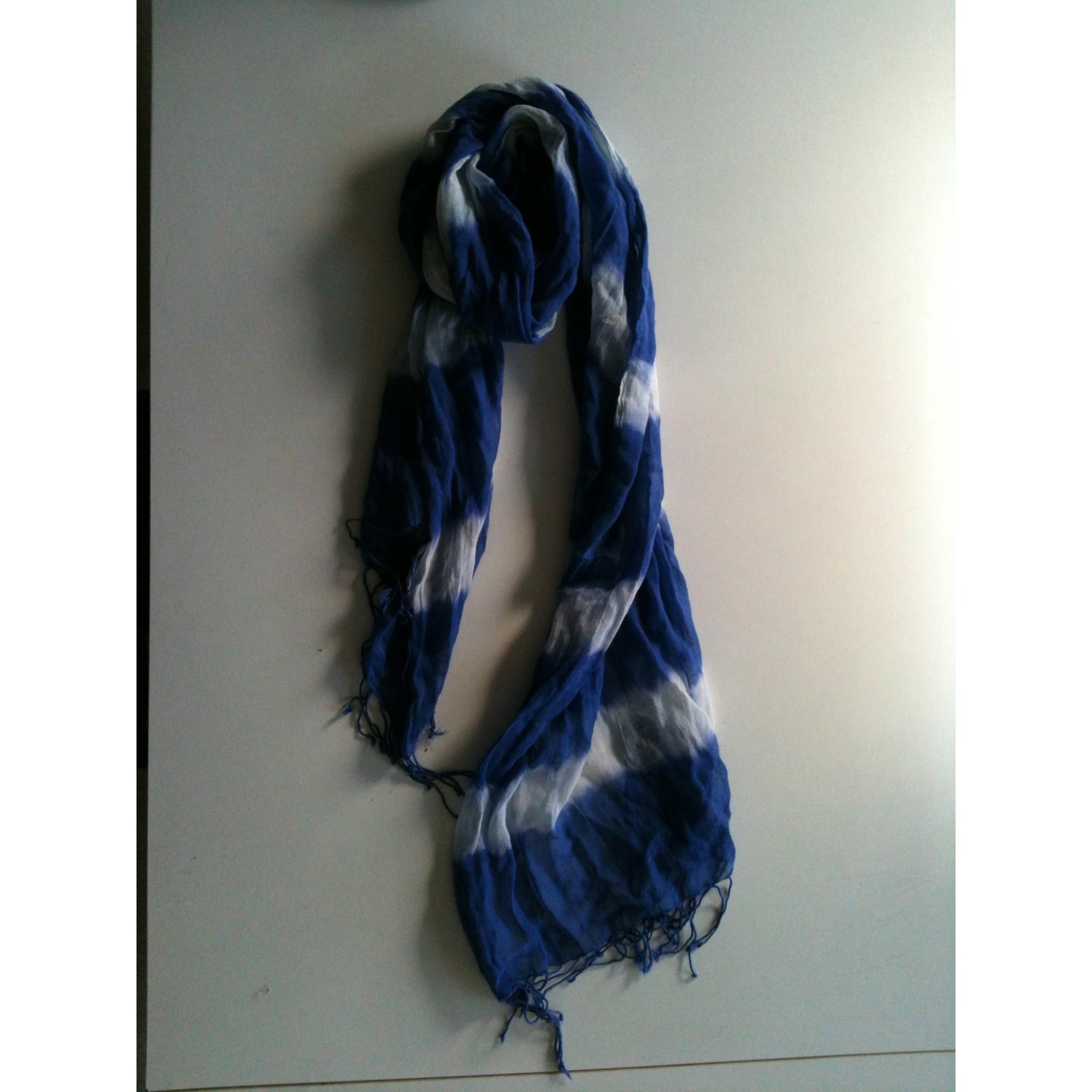 30d58d8621253 Echarpe KOOKAI Bleu, bleu marine, bleu turquoise
