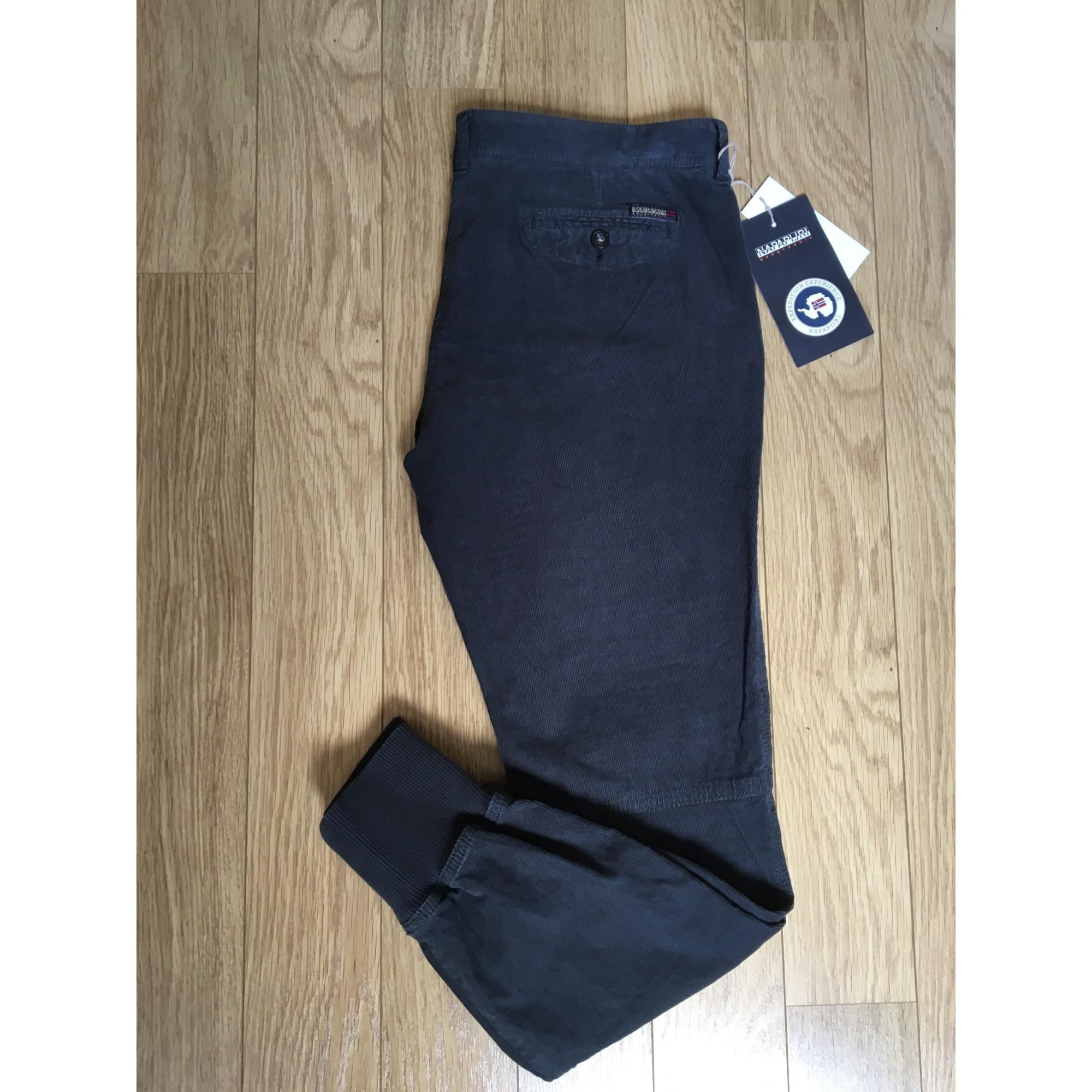 l Pantalon Napapijri Slim T3 40 Gris Cigarette 4682132 rw1wqIZ