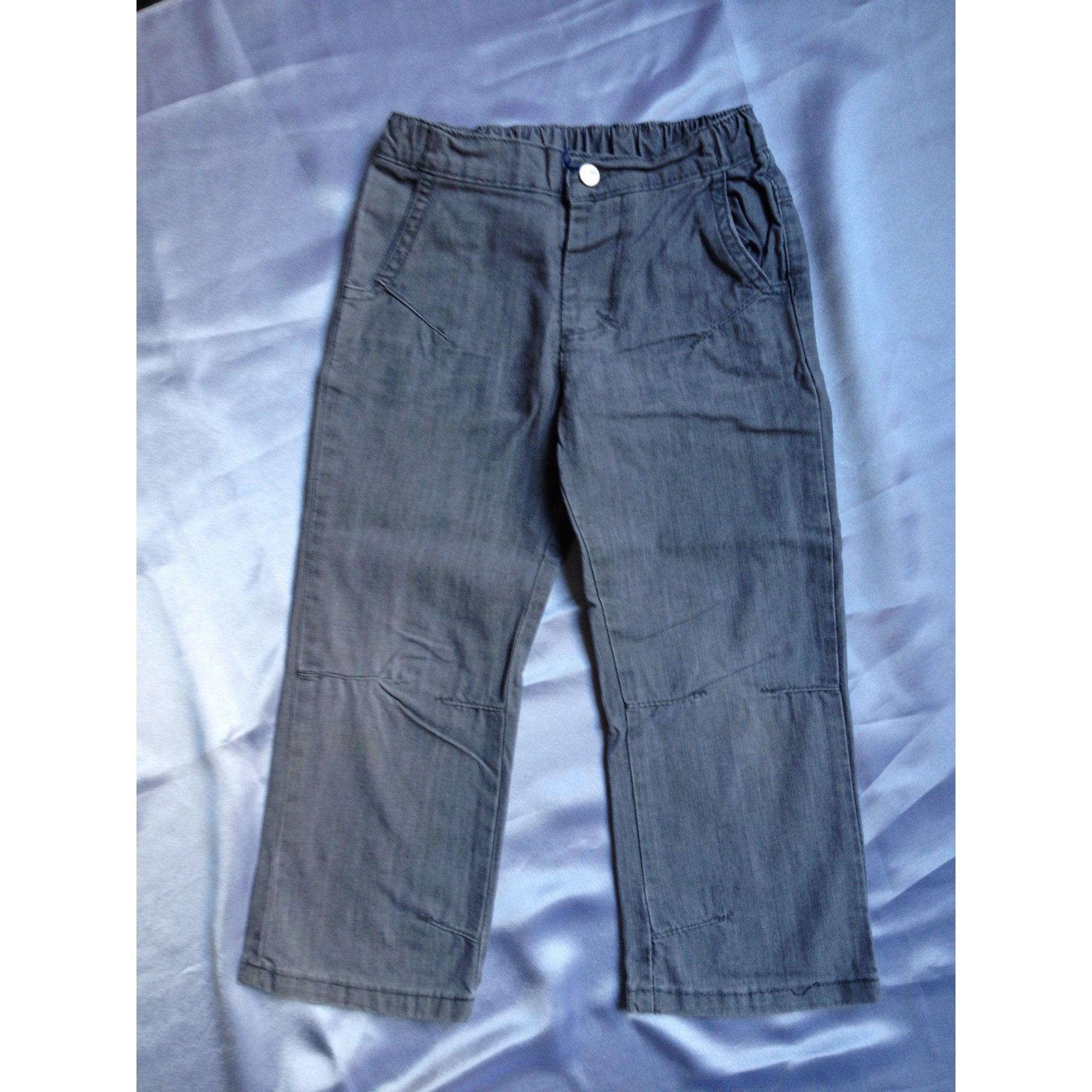 Pantalon 3 POMMES Gris, anthracite