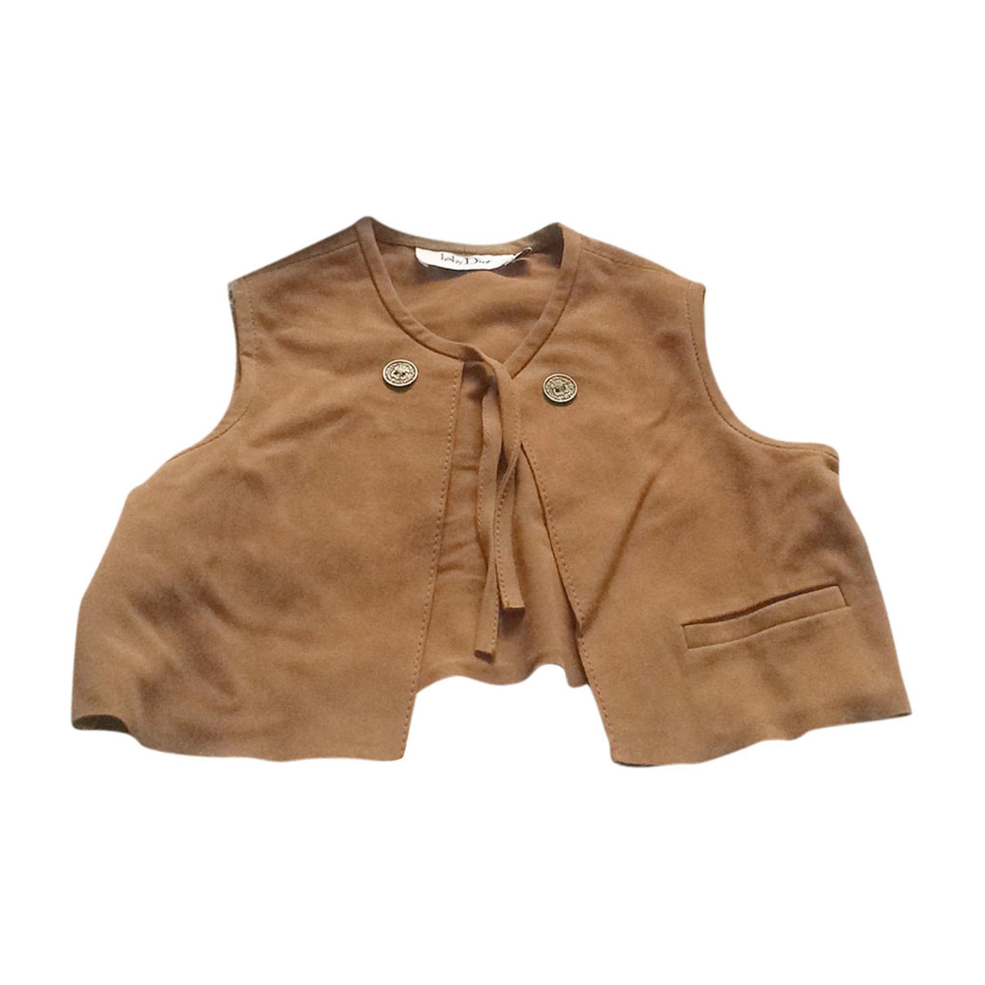 Jacket BABY DIOR Beige, camel