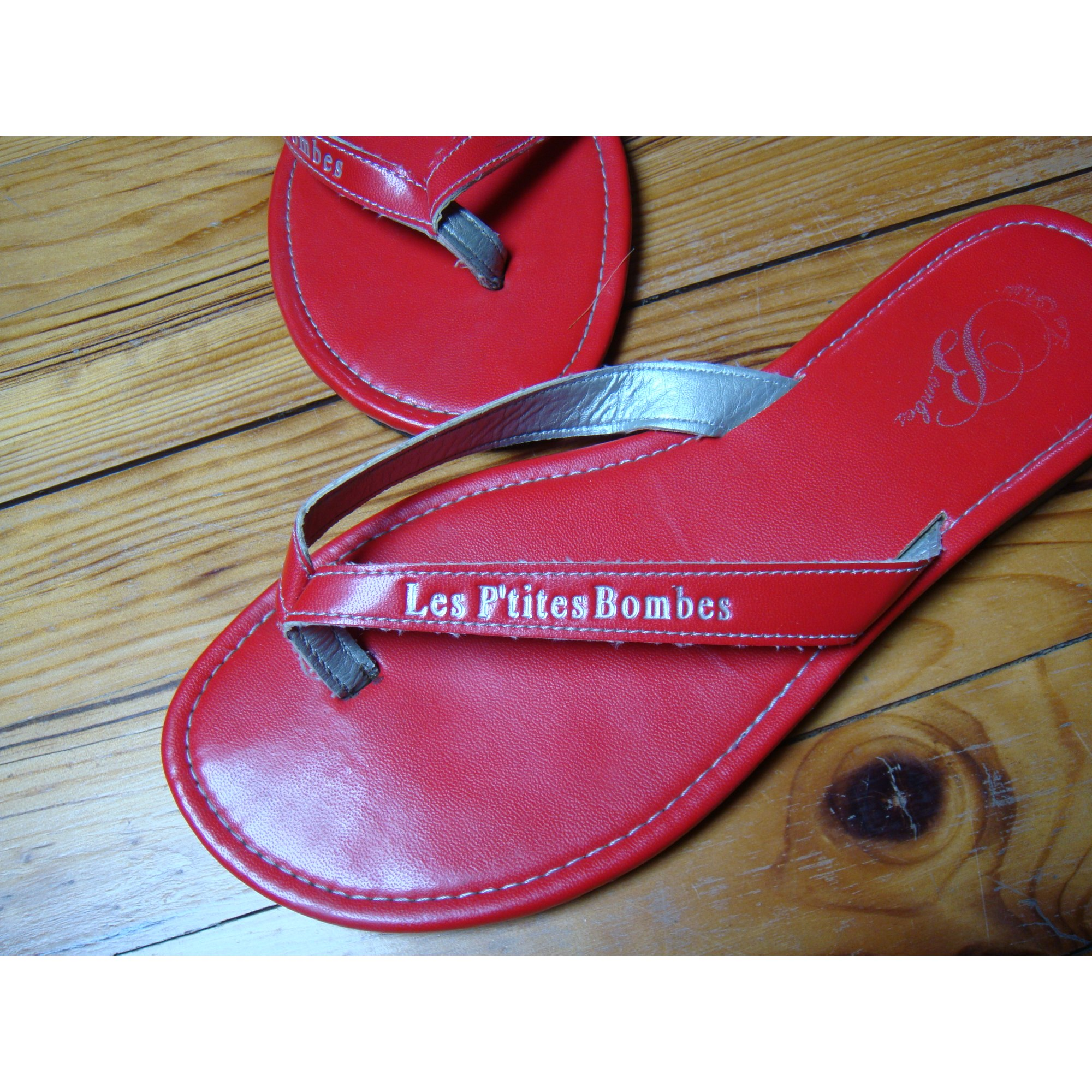 Tongs LES PETITES BOMBES 38 rouge - 4700793 98301f13a458