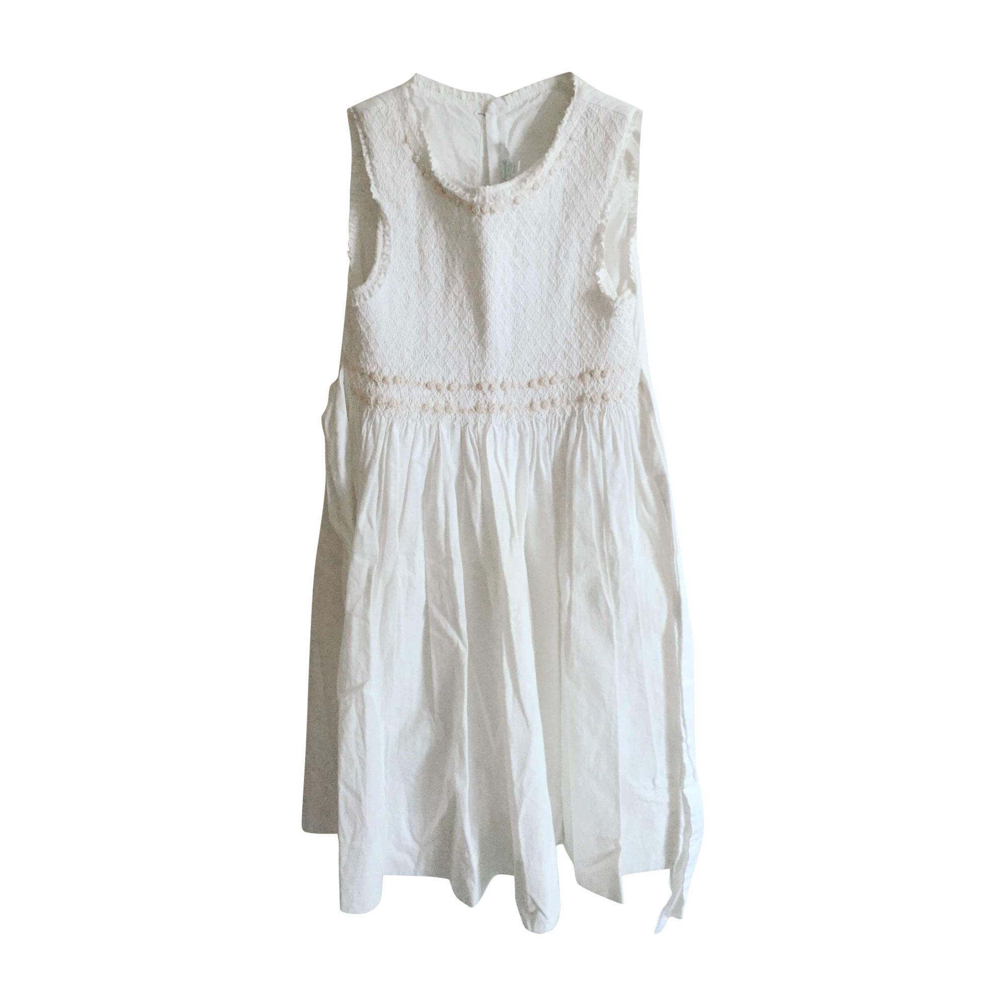 Robe JACADI Blanc, blanc cassé, écru