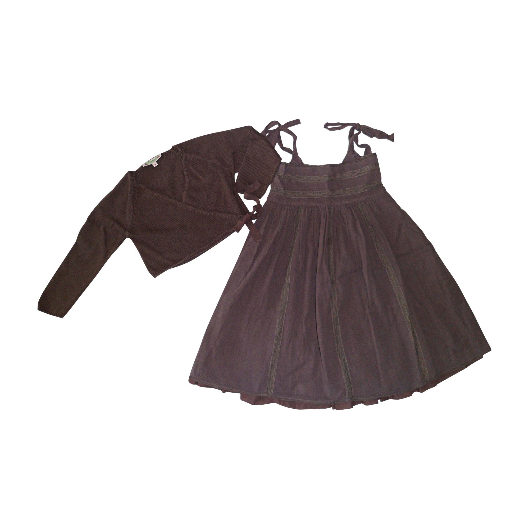 Robe BONPOINT Violet, mauve, lavande