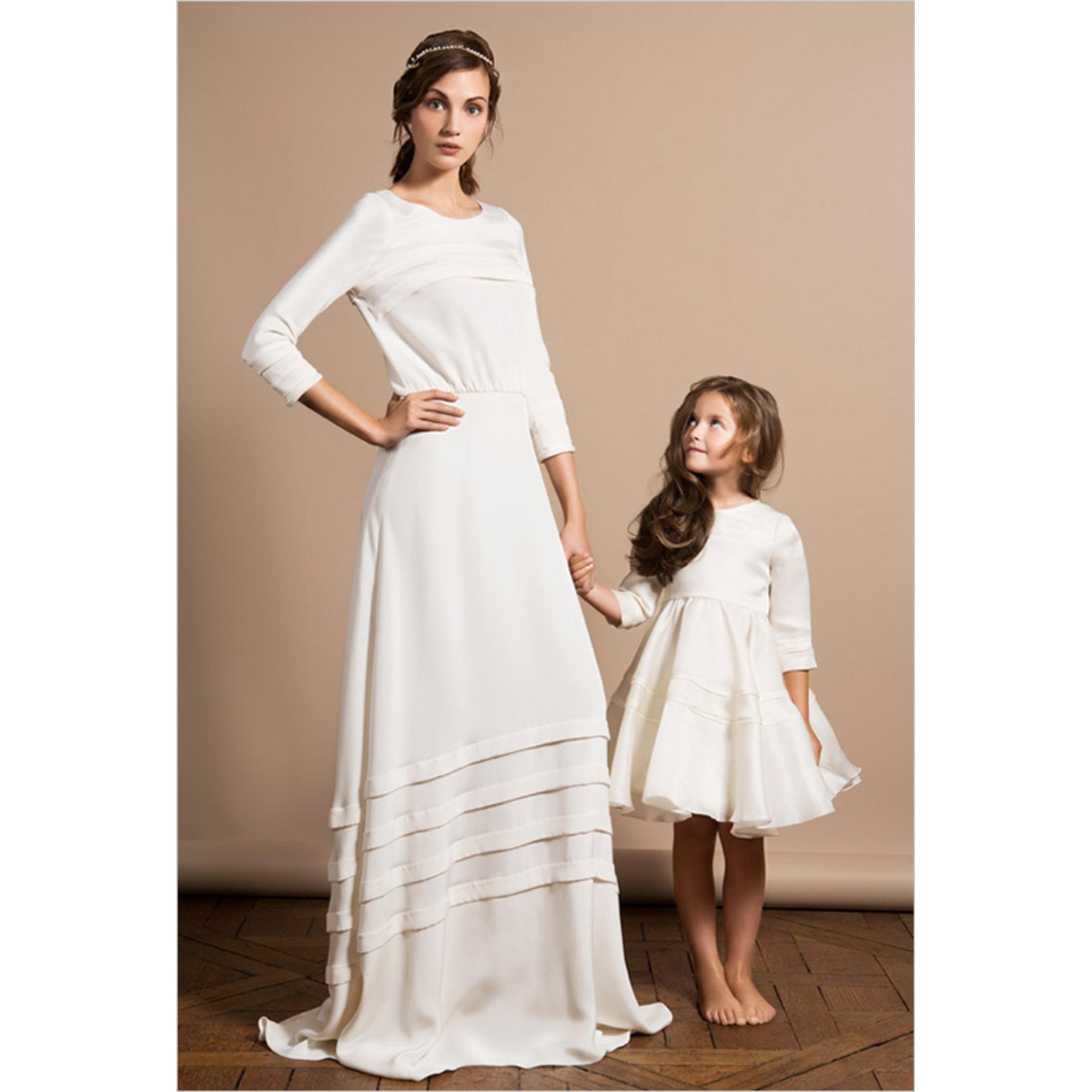 Robe de mariée DELPHINE MANIVET 38 (M, T2) naturweiß - 4718201