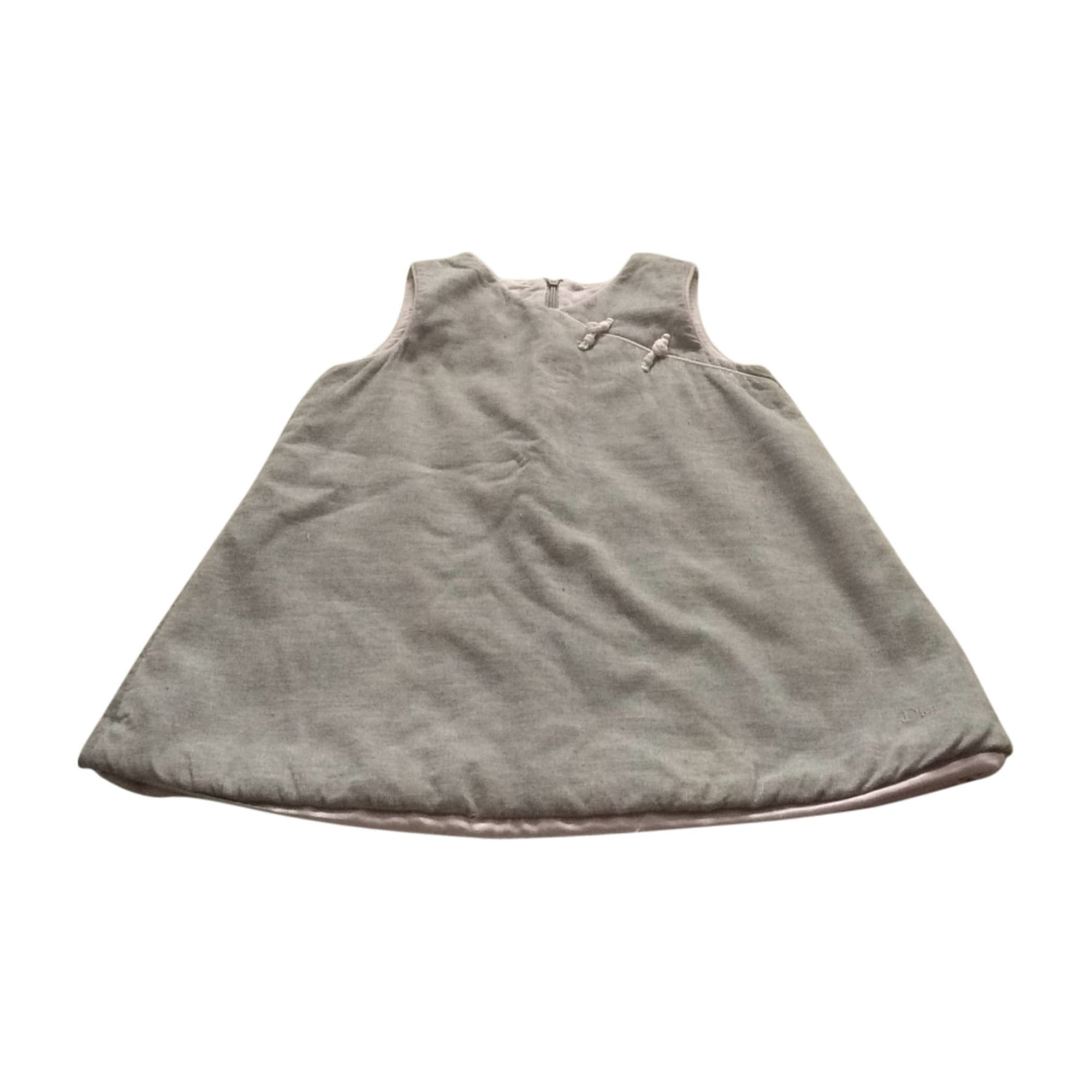 Dress BABY DIOR Gray, charcoal