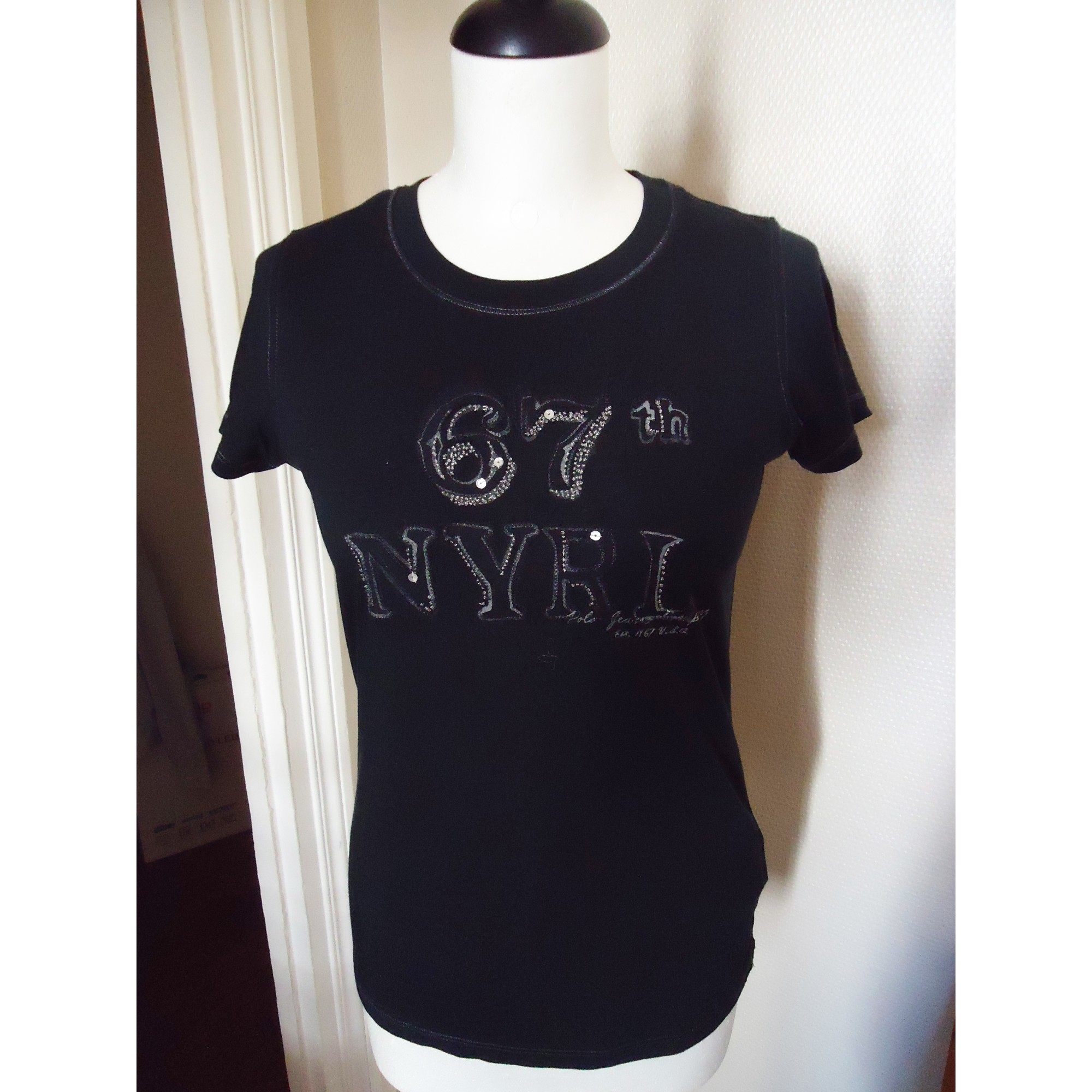 Top, tee-shirt RALPH LAUREN Noir