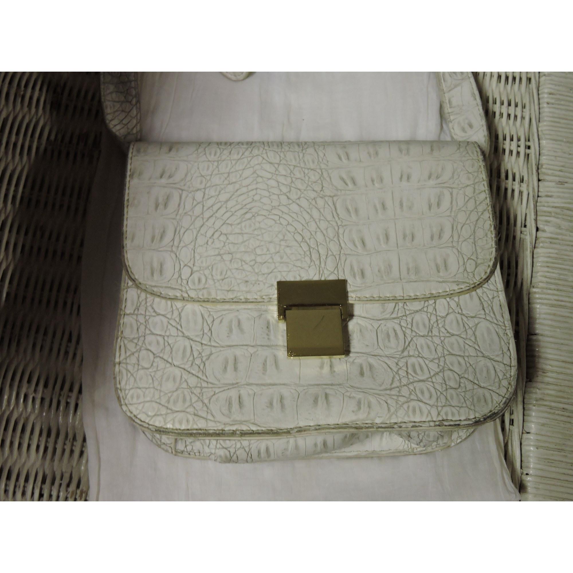 2b630d5bf84 Sac en bandoulière en cuir NEW LOOK blanc - 4762207