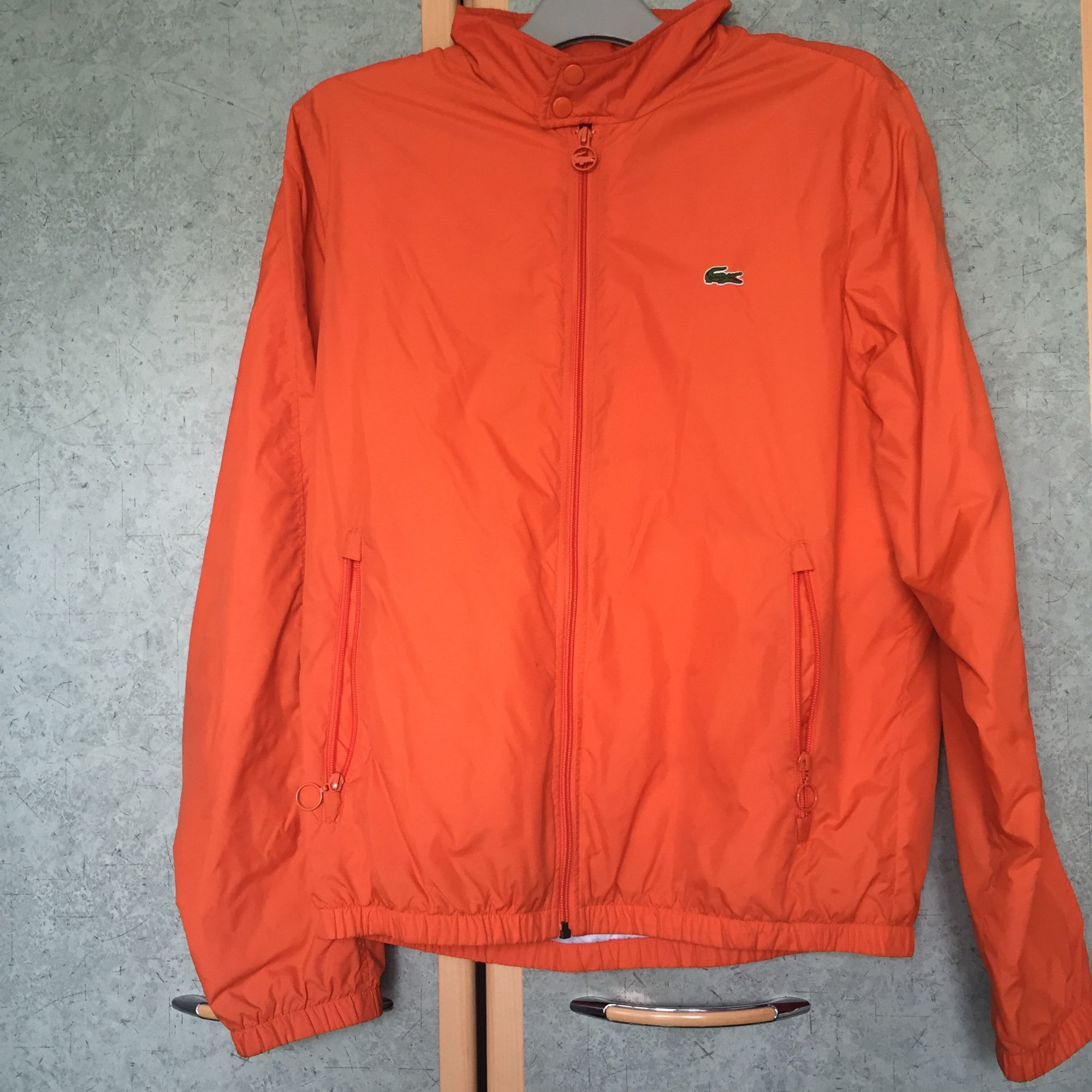 8945c50a2f Veste LACOSTE 50 (M) orange vendu par Sneaker - 4779883