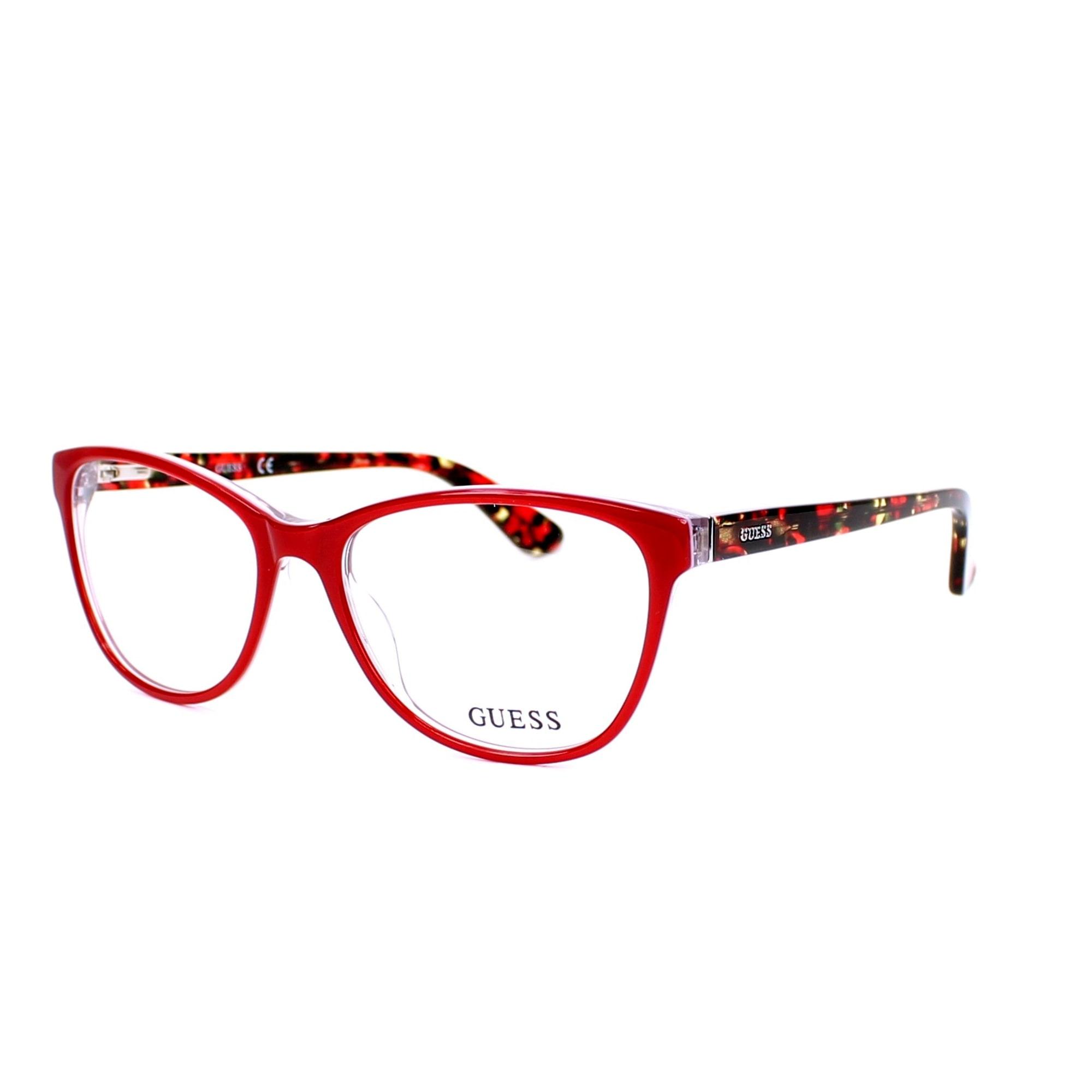 Monture de lunettes GUESS GU2547 rouge - 4781477 2ab4c97520e2