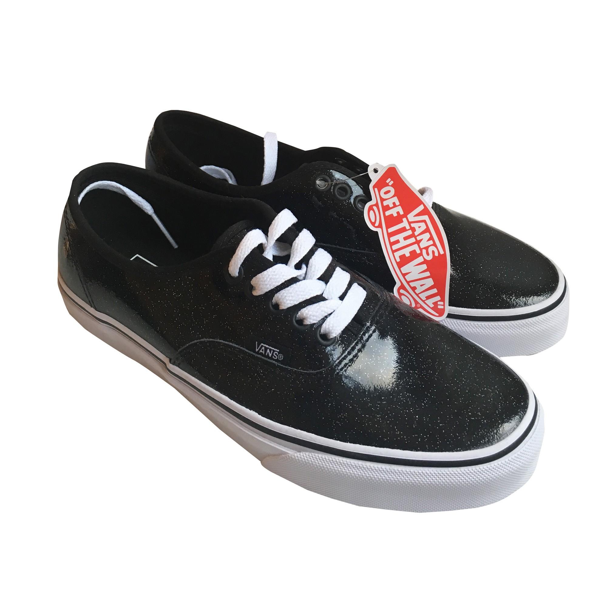 vans noir 39