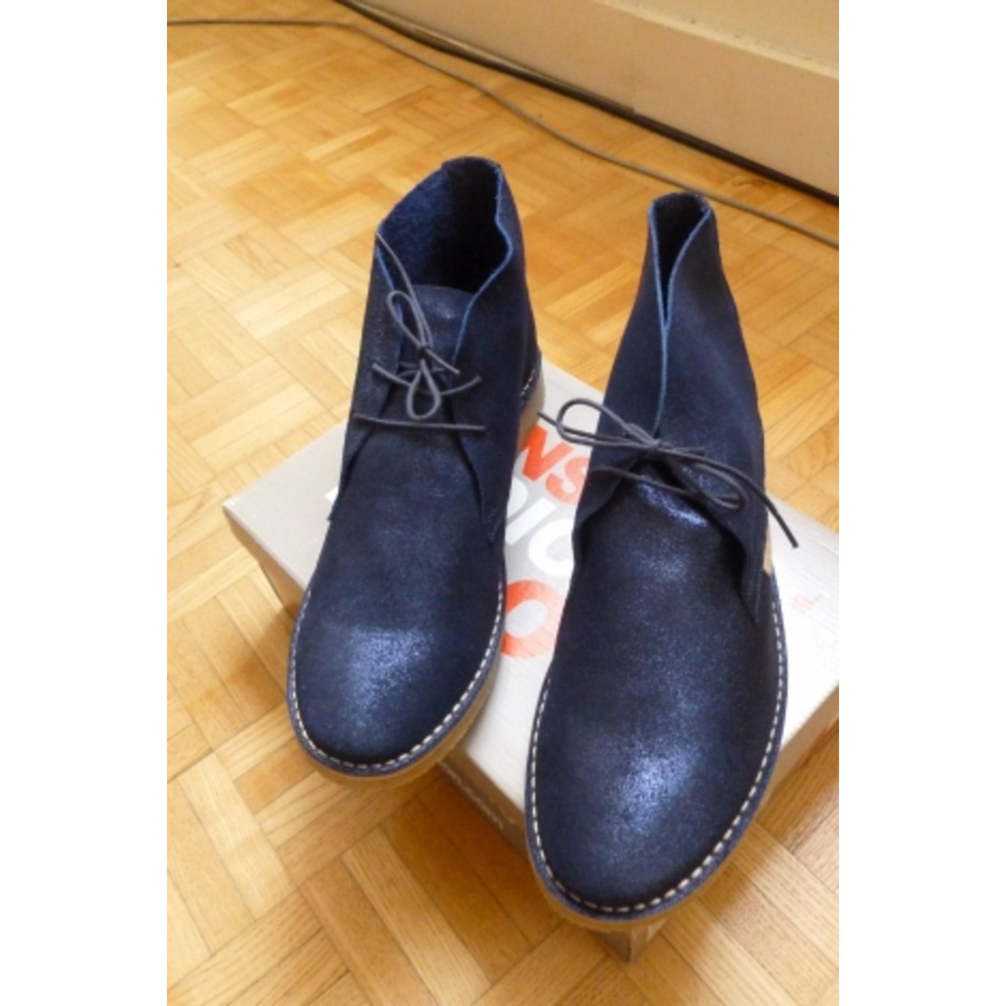 635eaf7fe75 Bottines   low boots plates BENSIMON 41 bleu - 4812977