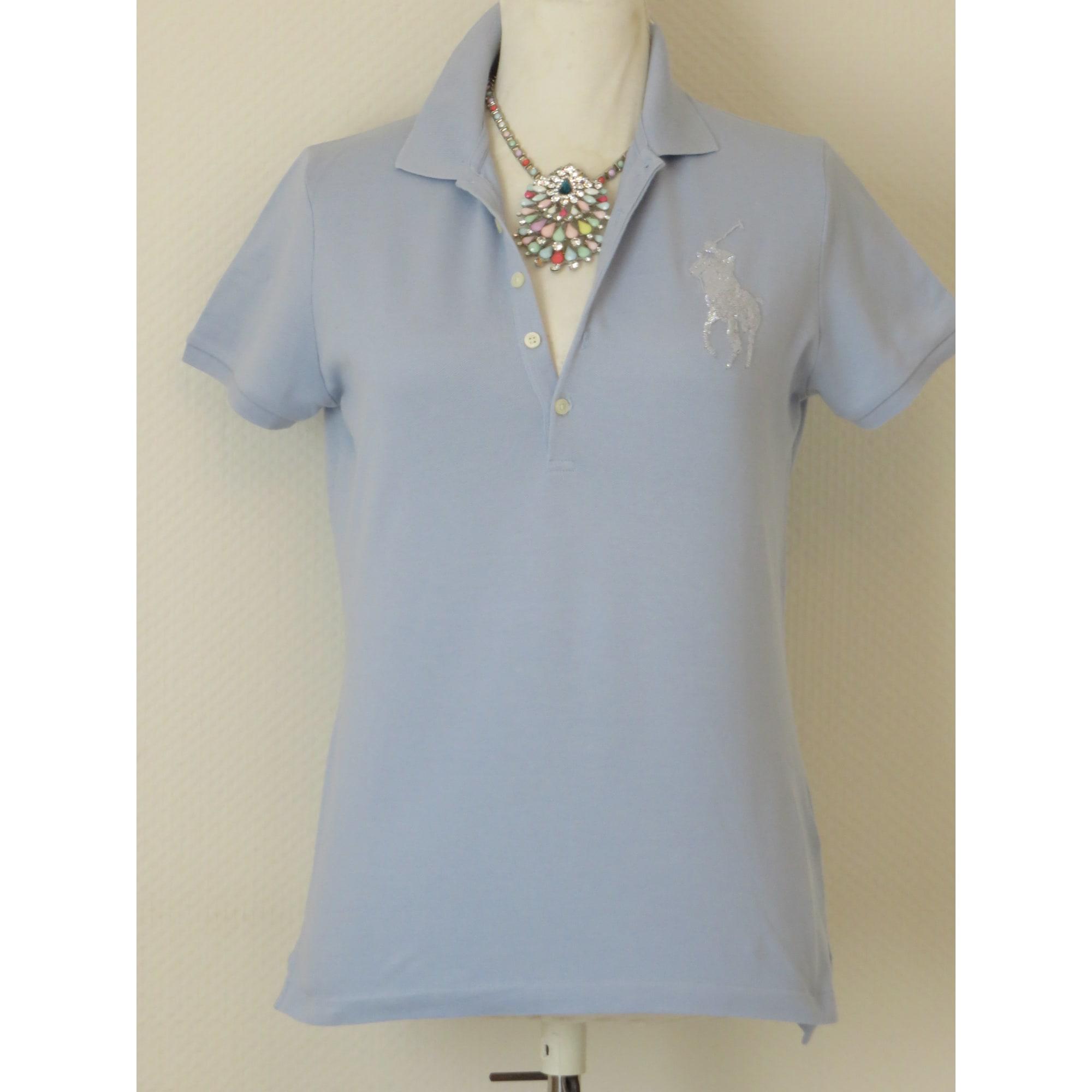 7af302787798 Polo RALPH LAUREN 42 (L XL, T4) bleu ciel vendu par D eve 6139923 ...