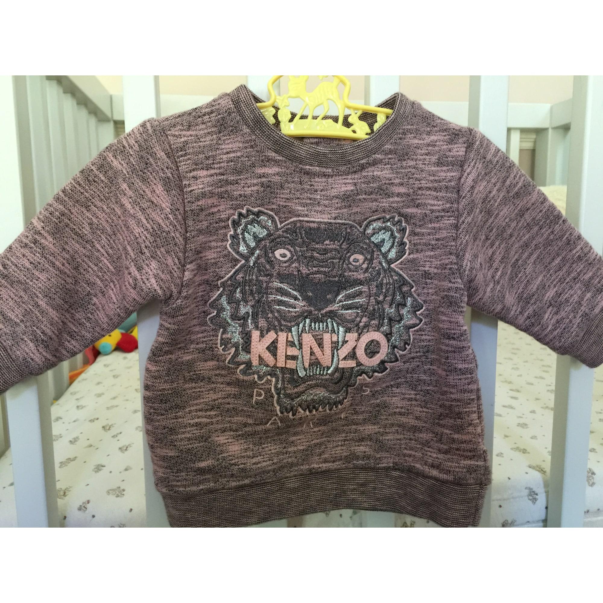 e69d5130806 Sweat KENZO 3 mois rose vendu par Le dressing de cézembre - 4830645