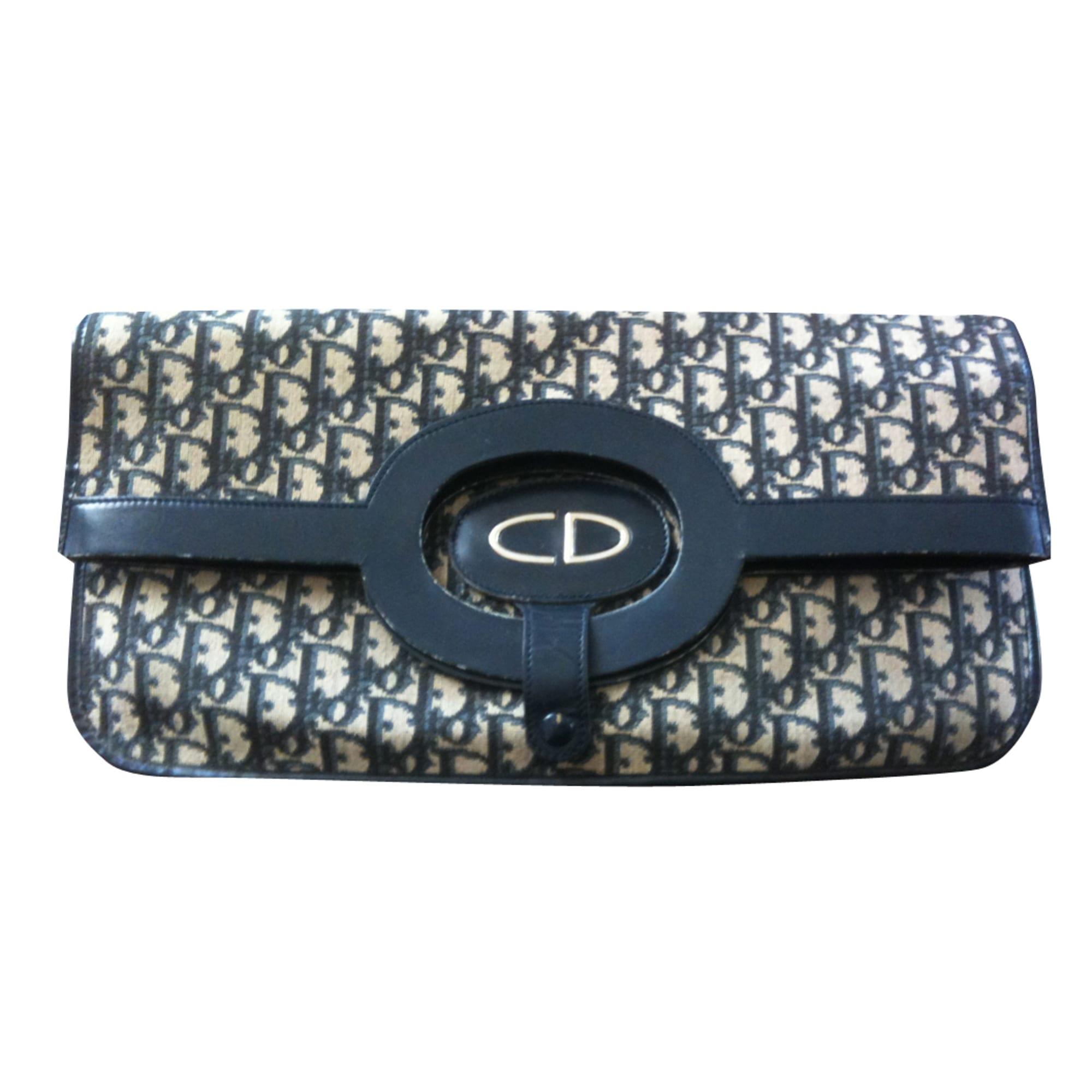 Sac à main en tissu DIOR bleu vendu par D audrey 1298051 - 486435 fd86fe9f489