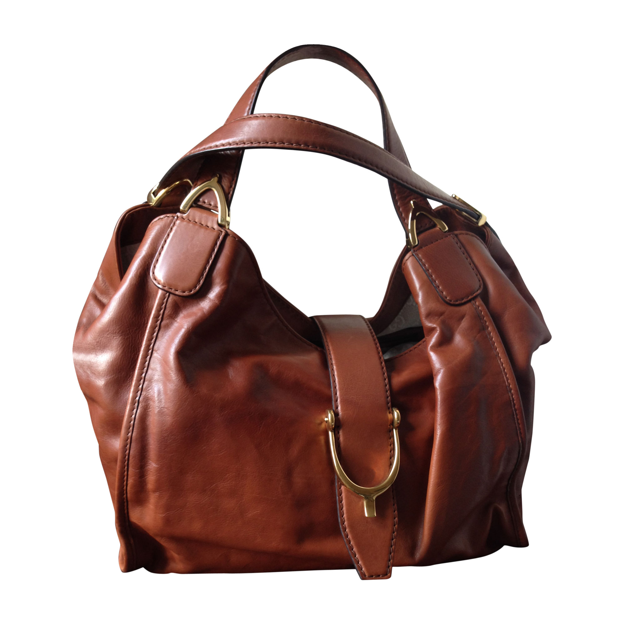 2827120cca Sac à main en cuir GUCCI marron - 4867220