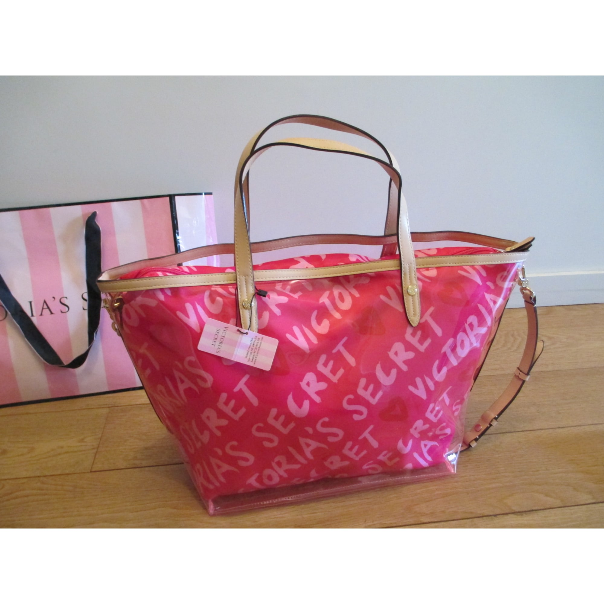 Pink Vendu Par Borsa Tessuto Secret Victoria's Xl In Rosa Les axO8wqUtS
