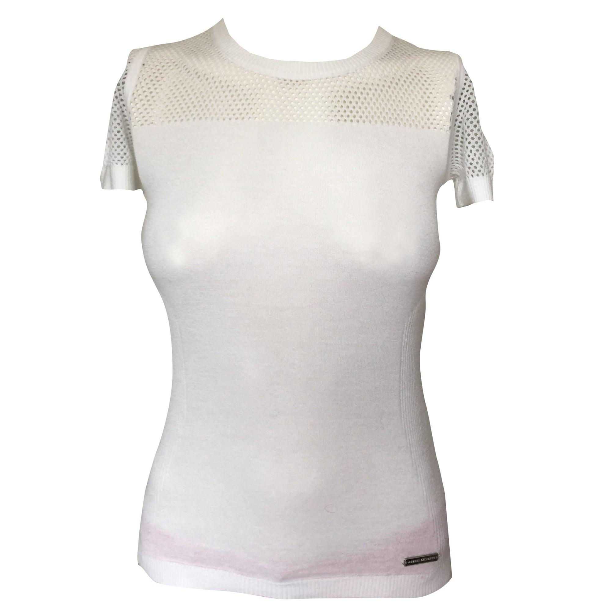 Exchange Blanc s Top 4880106 Shirt T1 36 Tee Armani qwXxWtxHv0