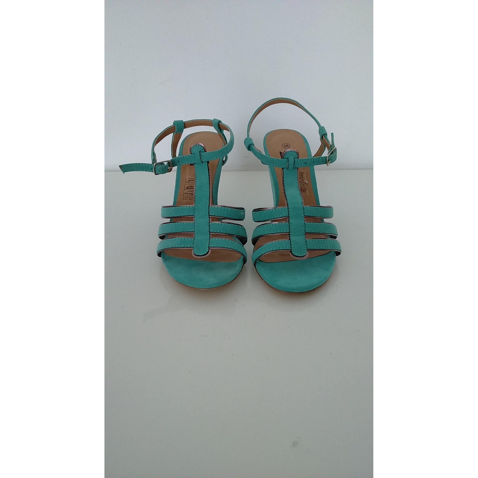 Vert Sandales 36 Compensées 4880951 Extenso In kwZPXuOliT