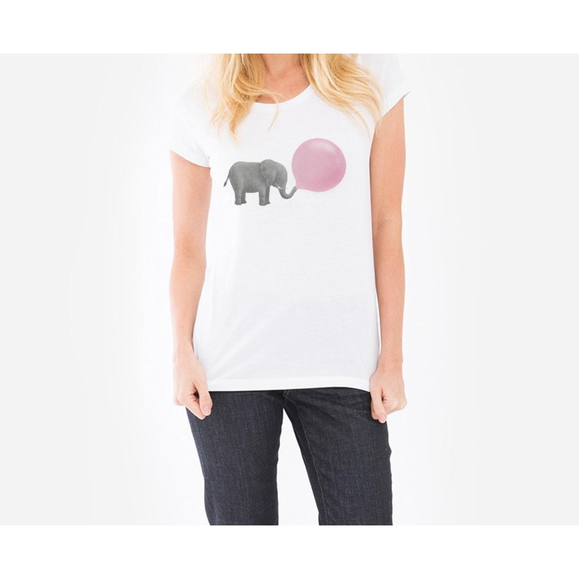 Top, tee-shirt WOOOP 34 (XS, T0) blanc -