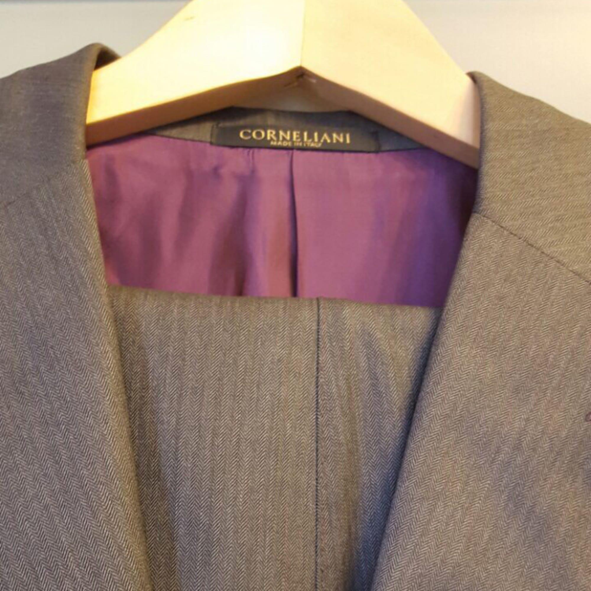 Complete Suit CORNELIANI Gray, charcoal