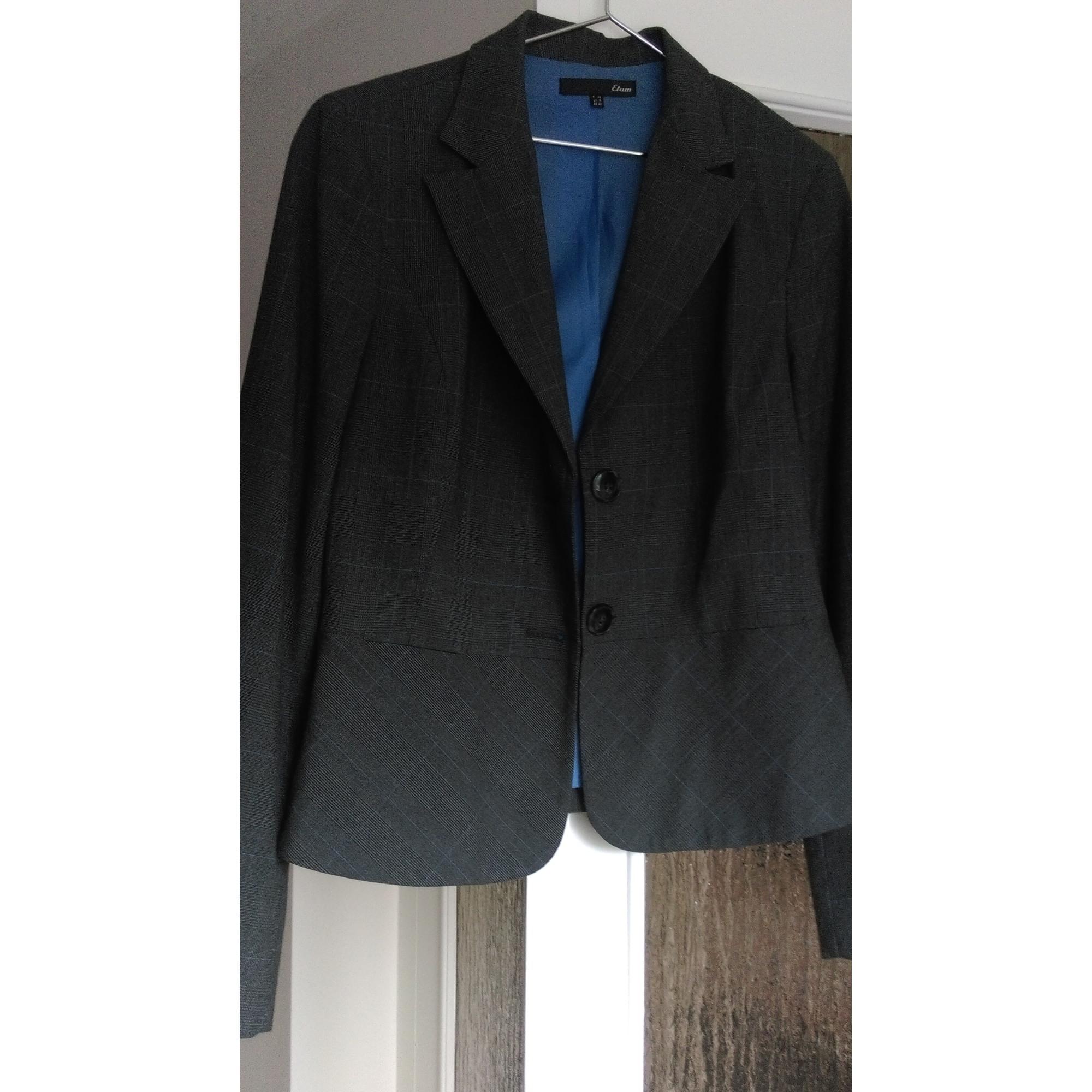 veste ETAM vendu tailleur Blazer LXL par T4 42 Agathe123 bleu dEUvcyqAO f0db4cc02f9