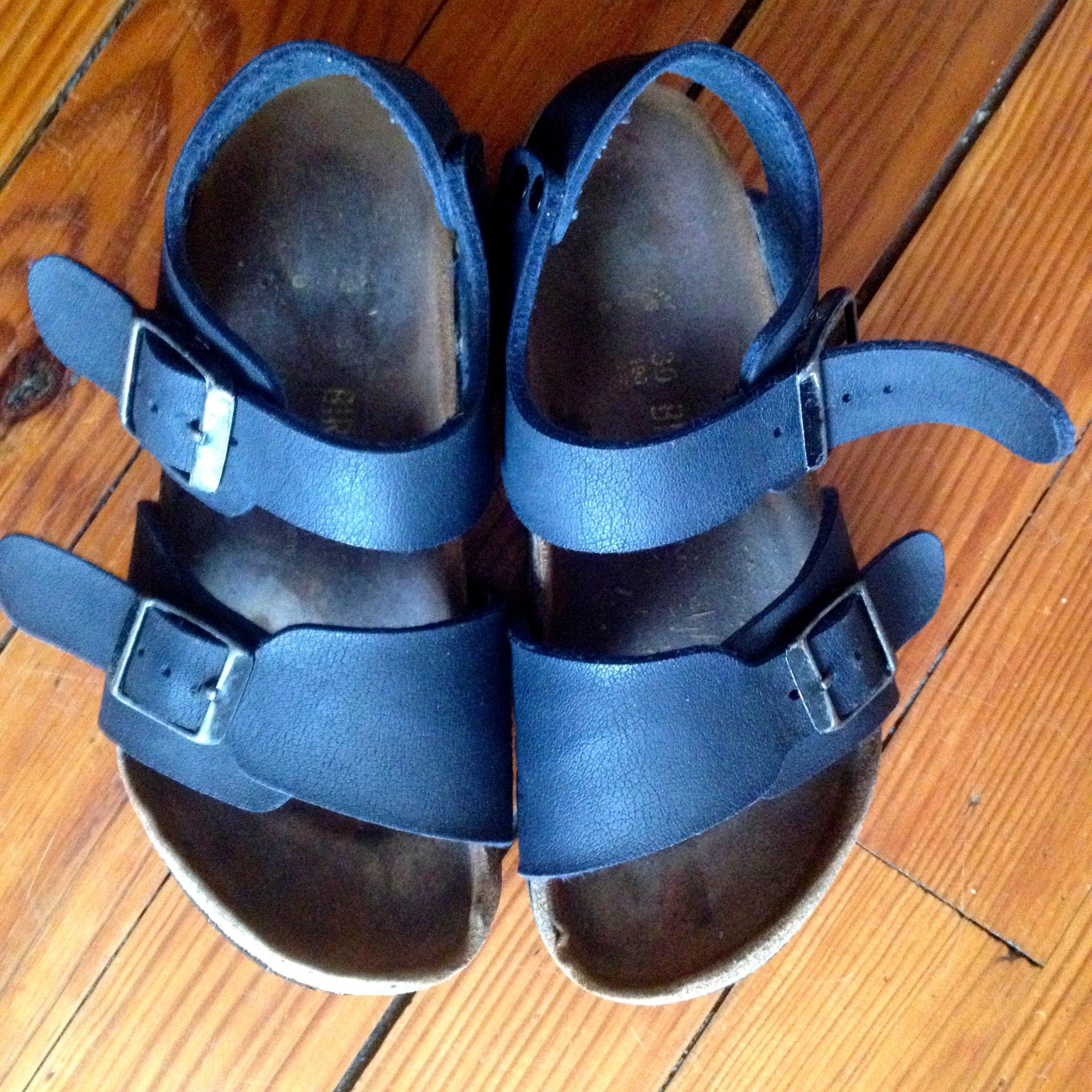 Chaussures à boucle BIRKENSTOCK Bleu, bleu marine, bleu turquoise
