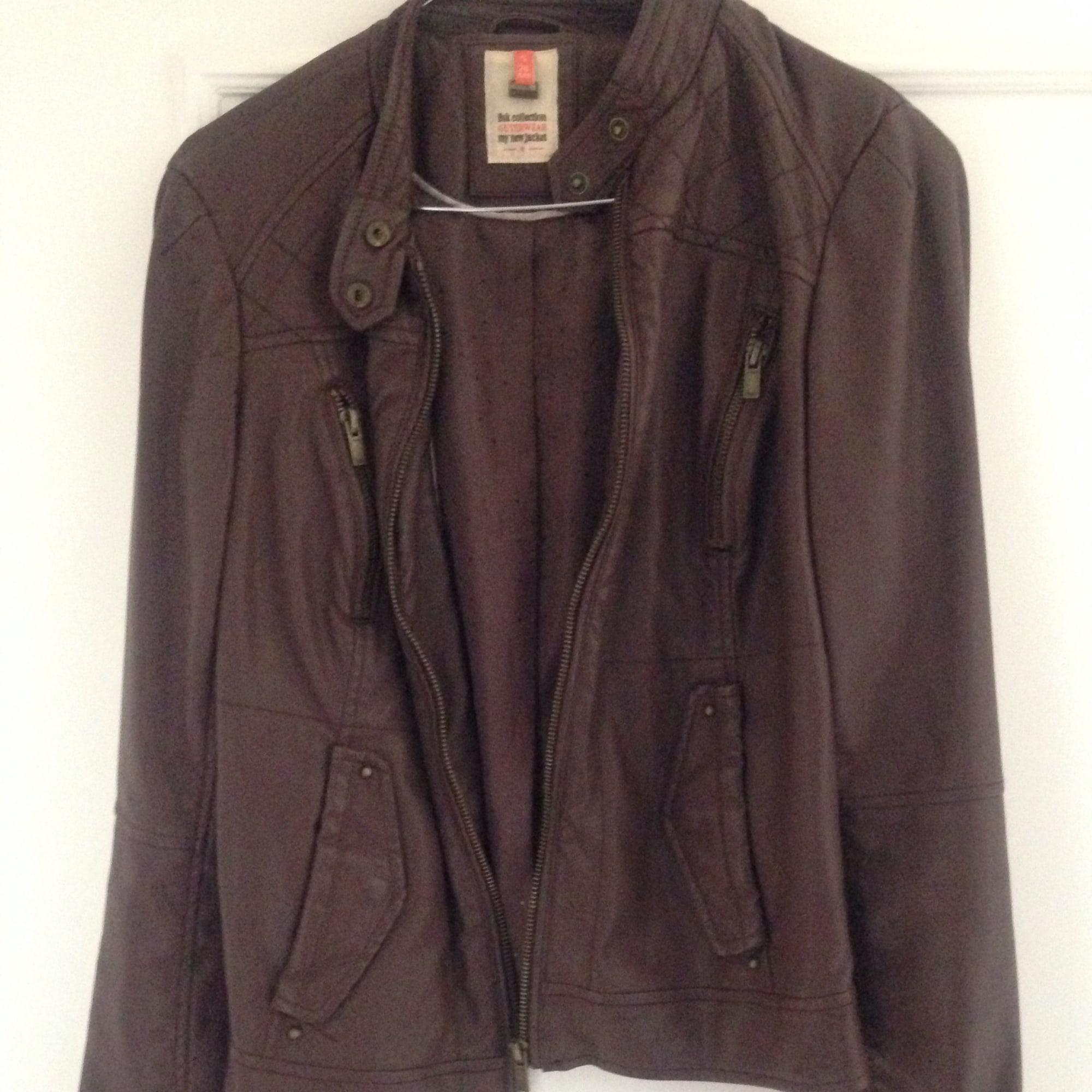 Bershka giacca in pelle
