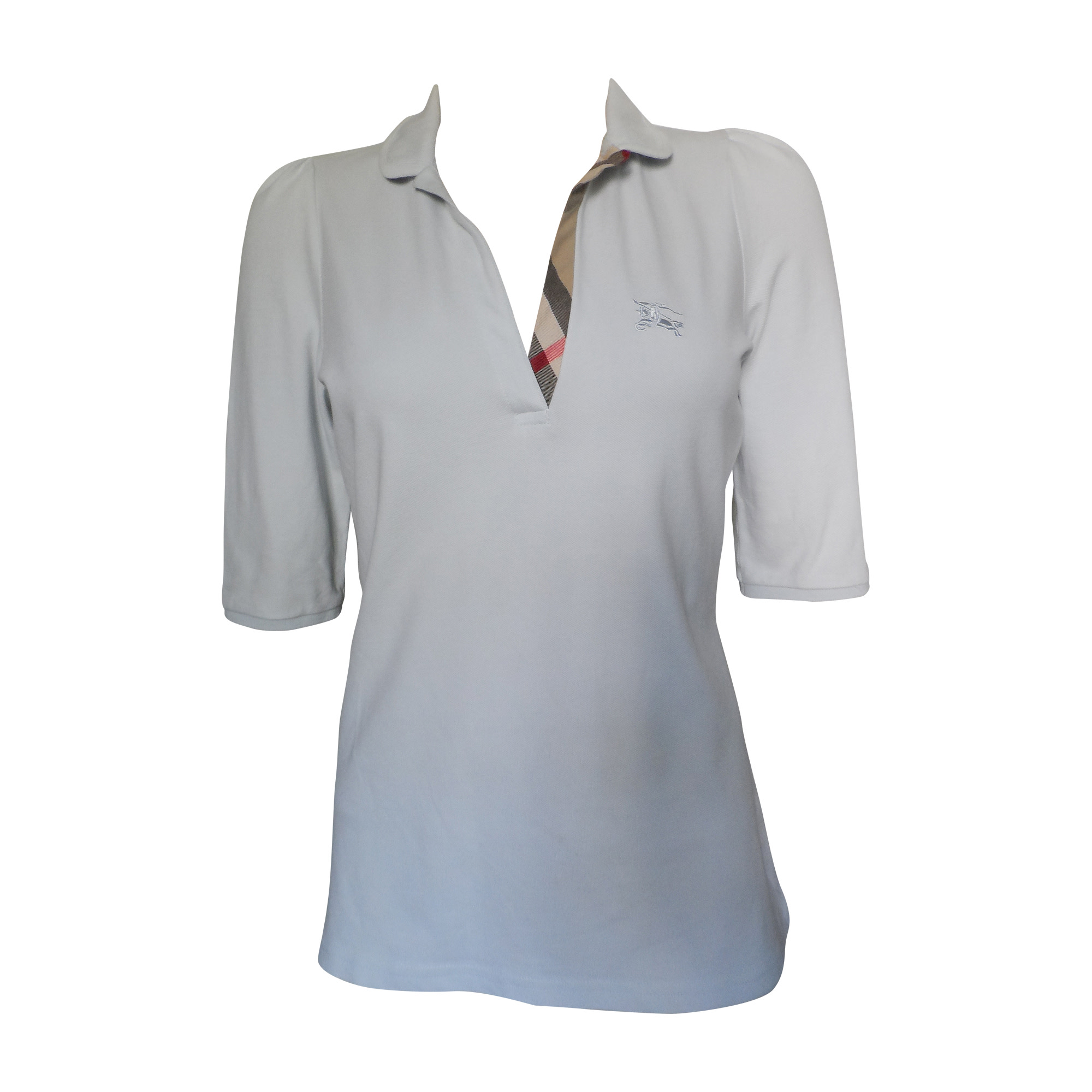 2810b62afb20 Polo BURBERRY 40 (L, T3) gris - 4936619