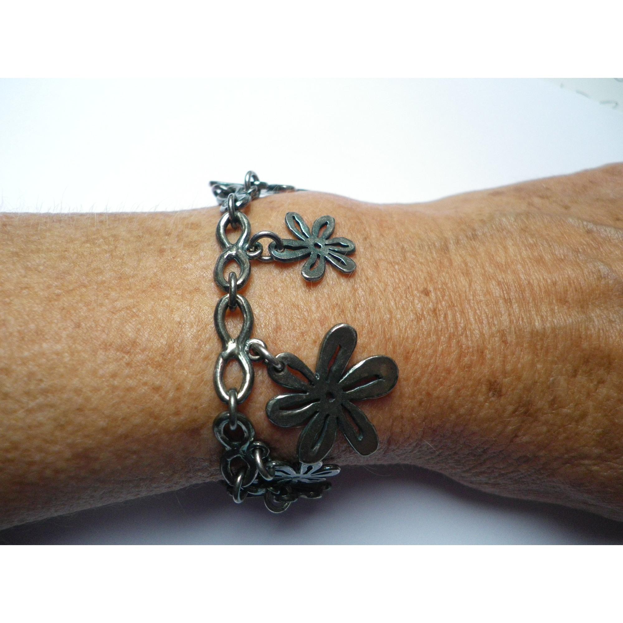 Bracelet LILI LA PIE métal noir
