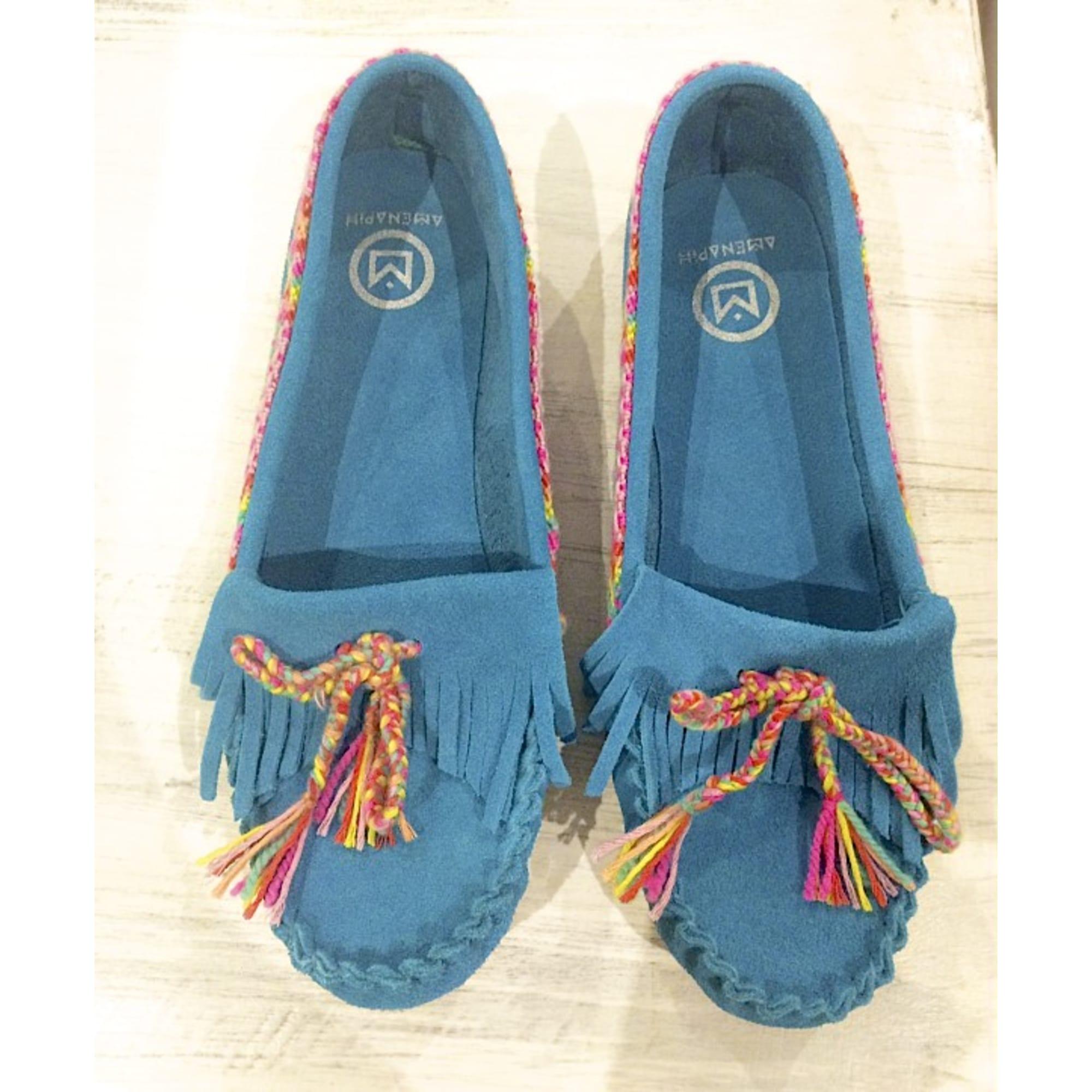 Mocassins HIPANEMA Bleu, bleu marine, bleu turquoise